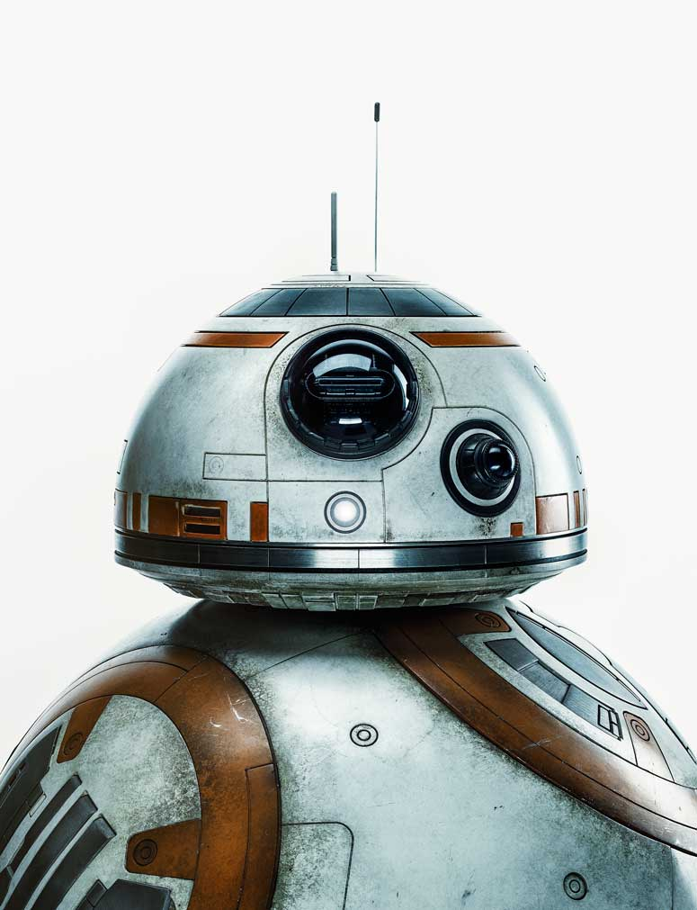 BB-8 photographed for TIME on October 29, 2015 in London.
