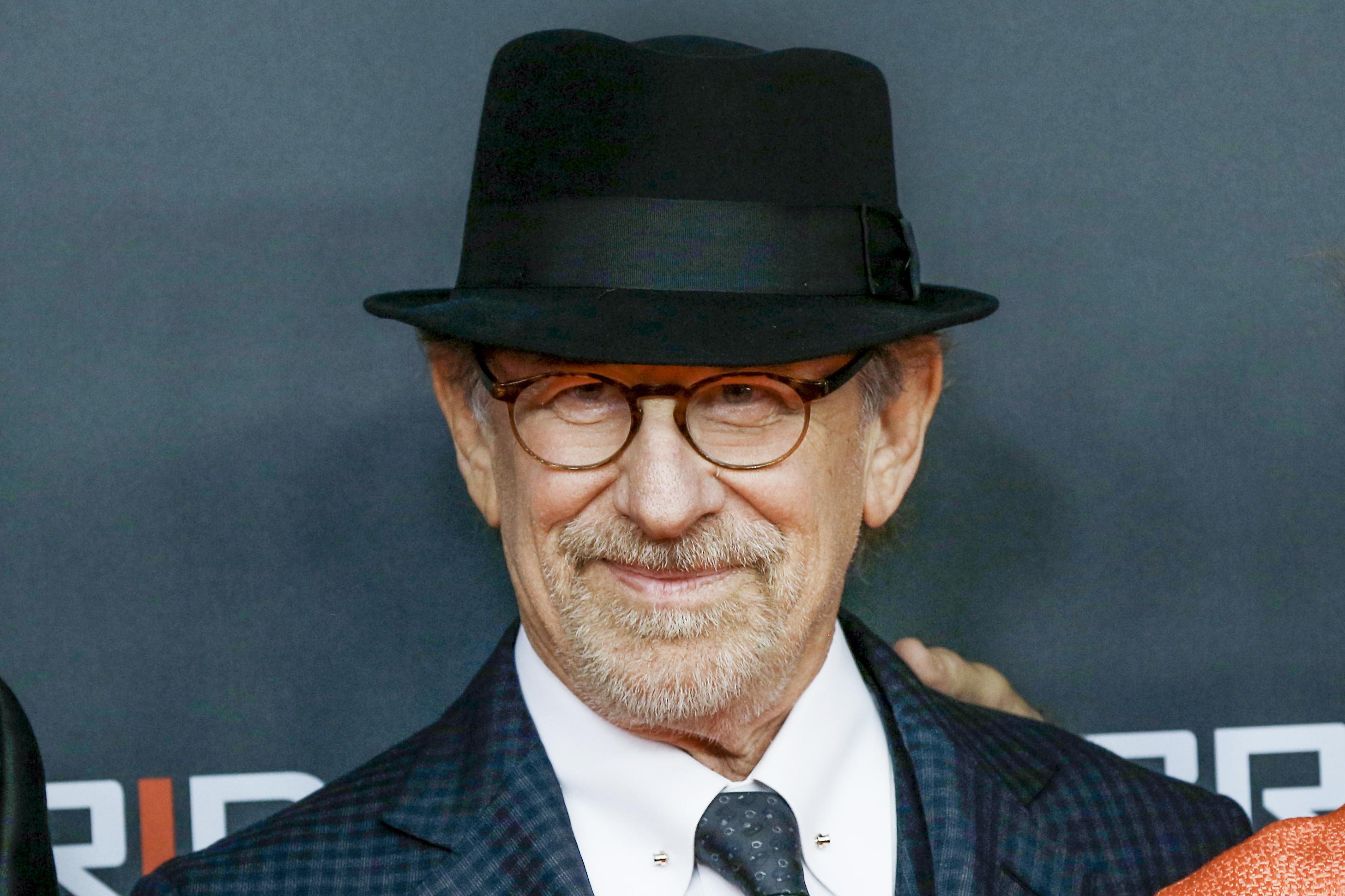 Steven Spielberg attends the 'Bridge of Spies - Der Unterhaendler' World Premiere In Berlin on November 13, 2015 in Berlin, Germany.
