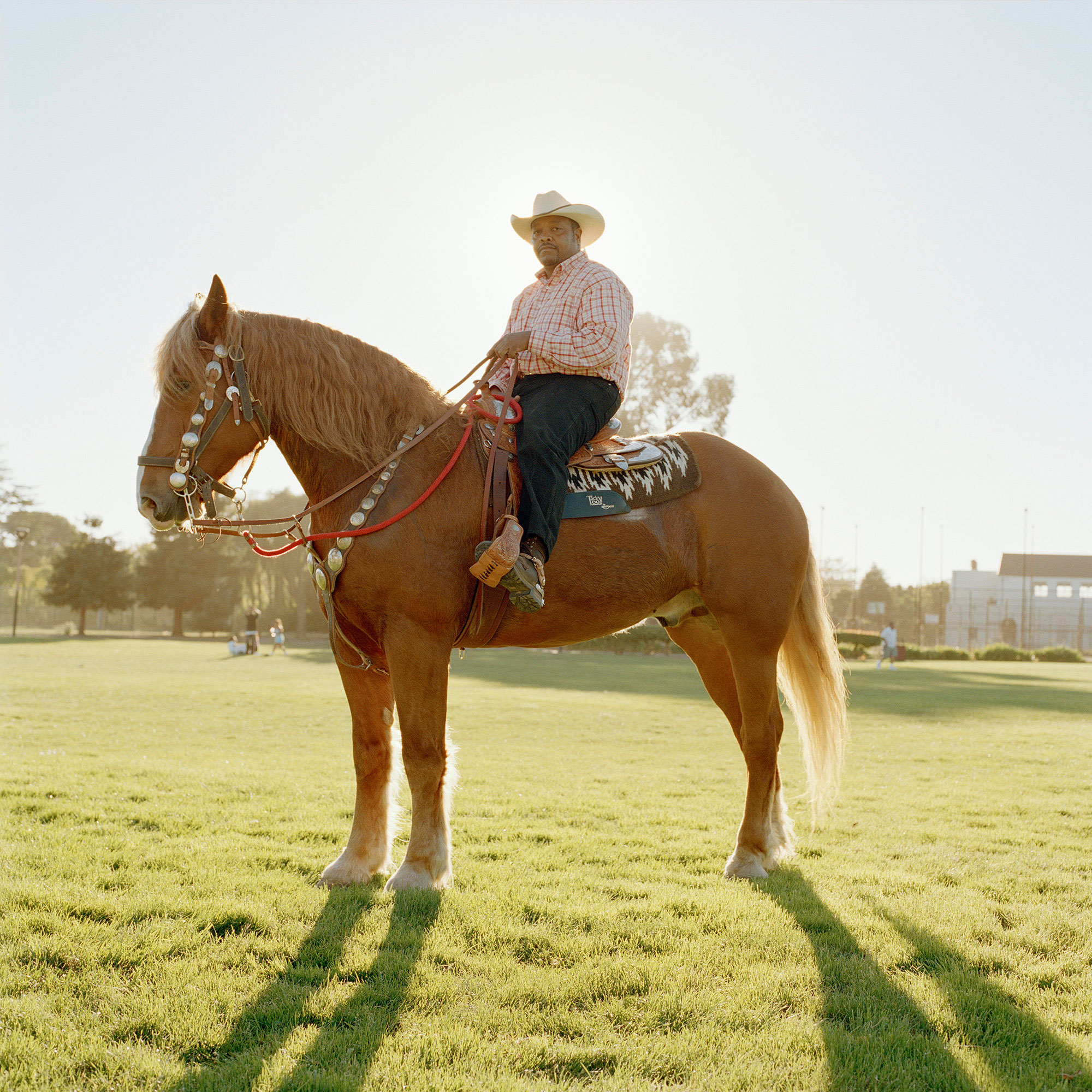 Urban Cowboy, from the series  There is Nothing Beautiful Around Here.  Richmond, Calif. 2010.