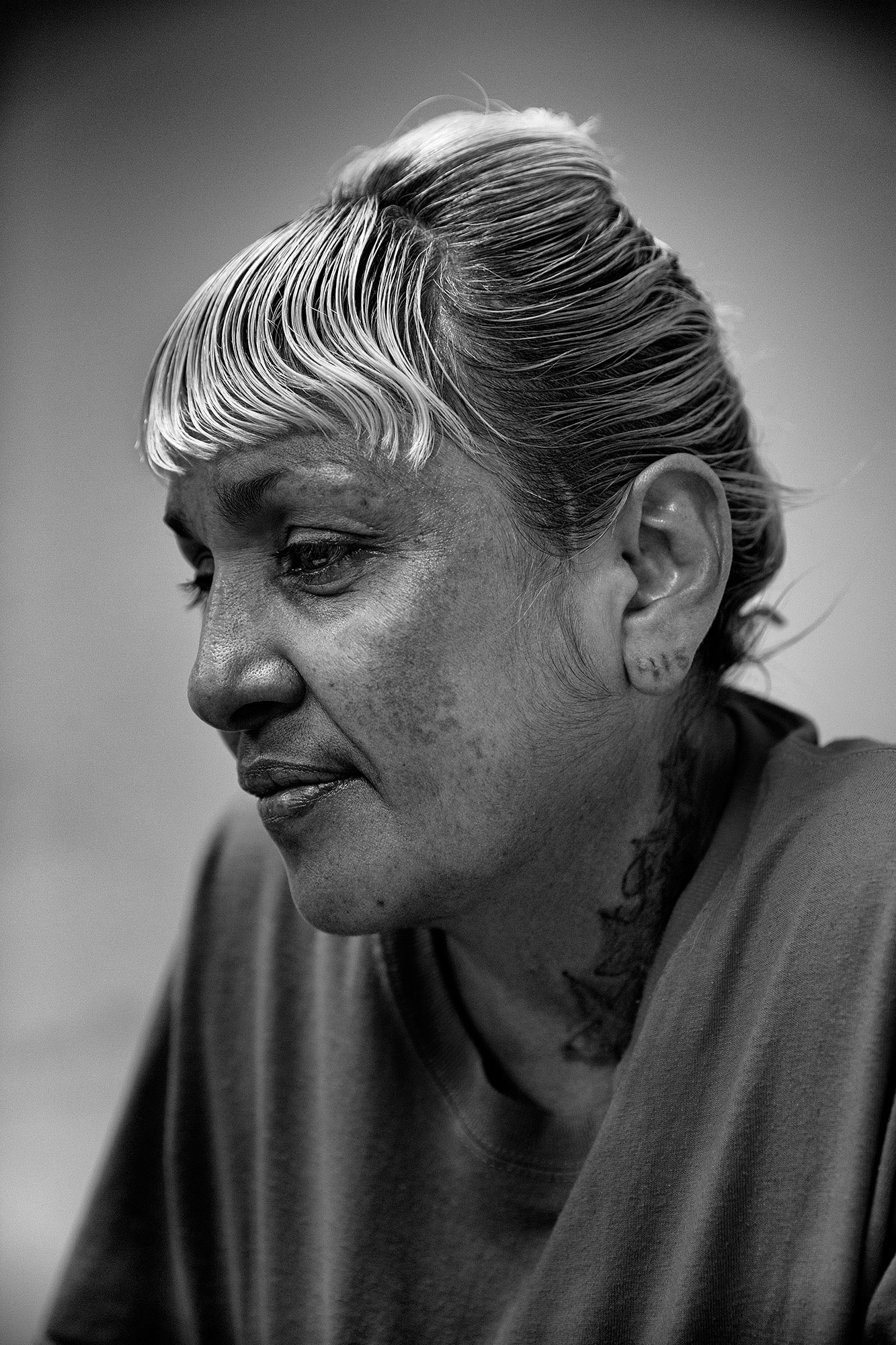 Anna Louisa Urbina. San Francisco County Jail 2. From the series,  Take a Picture, Tell a Story,  San Francisco, Calif.