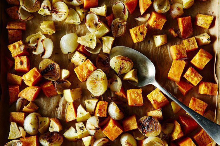 thanksgiving-baked-grilled-vegetables