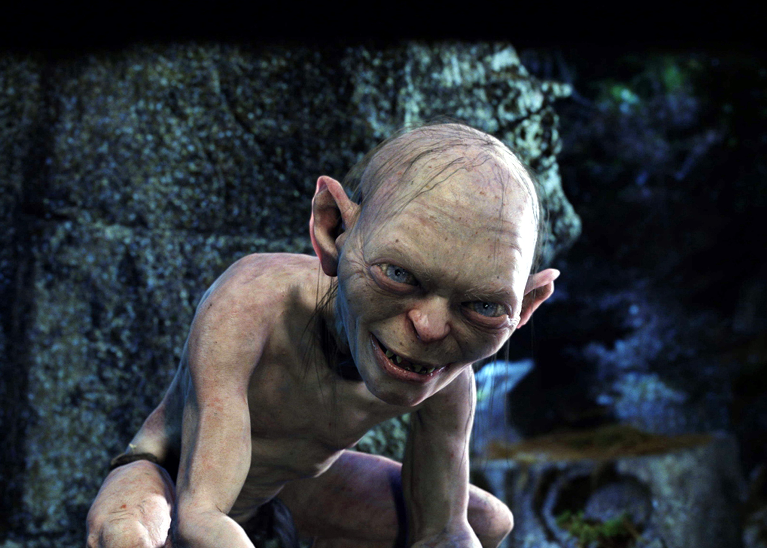 An image of Gollum from The Lord of the Rings: The Return of the King