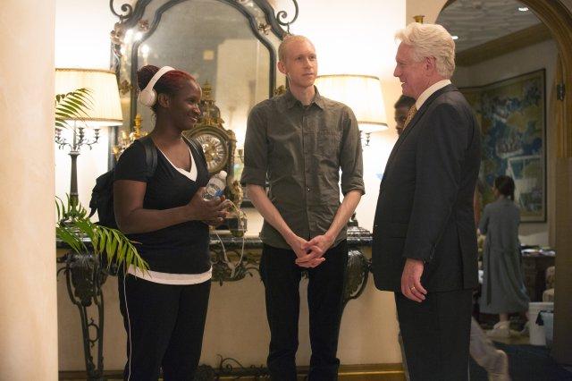 From left: Effie T. Brown, Jason Mann, Bruce Davison in Project Greenlight.