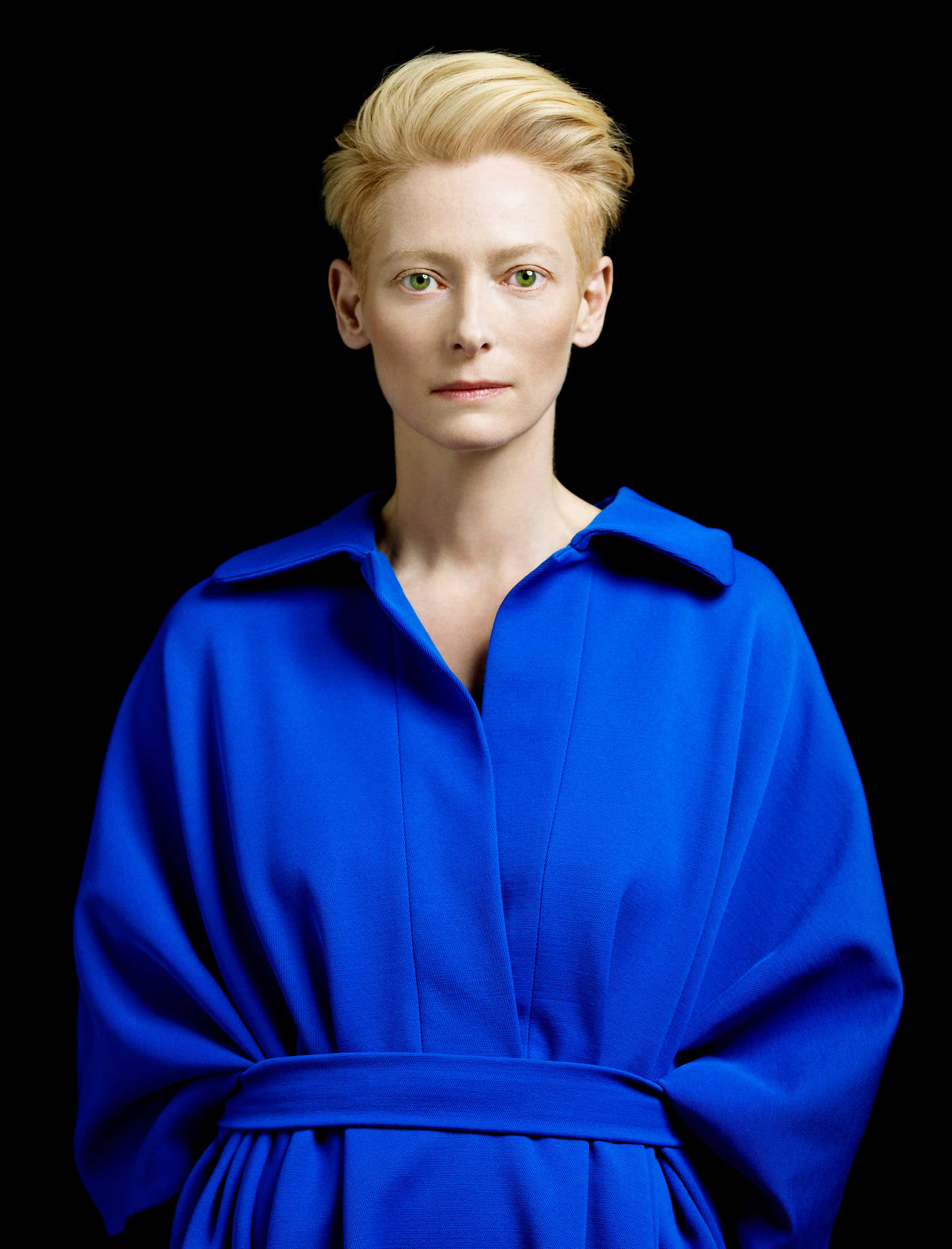 Tilda Swinton in 2012 photographed as an honoree for that year's TIME 100.
