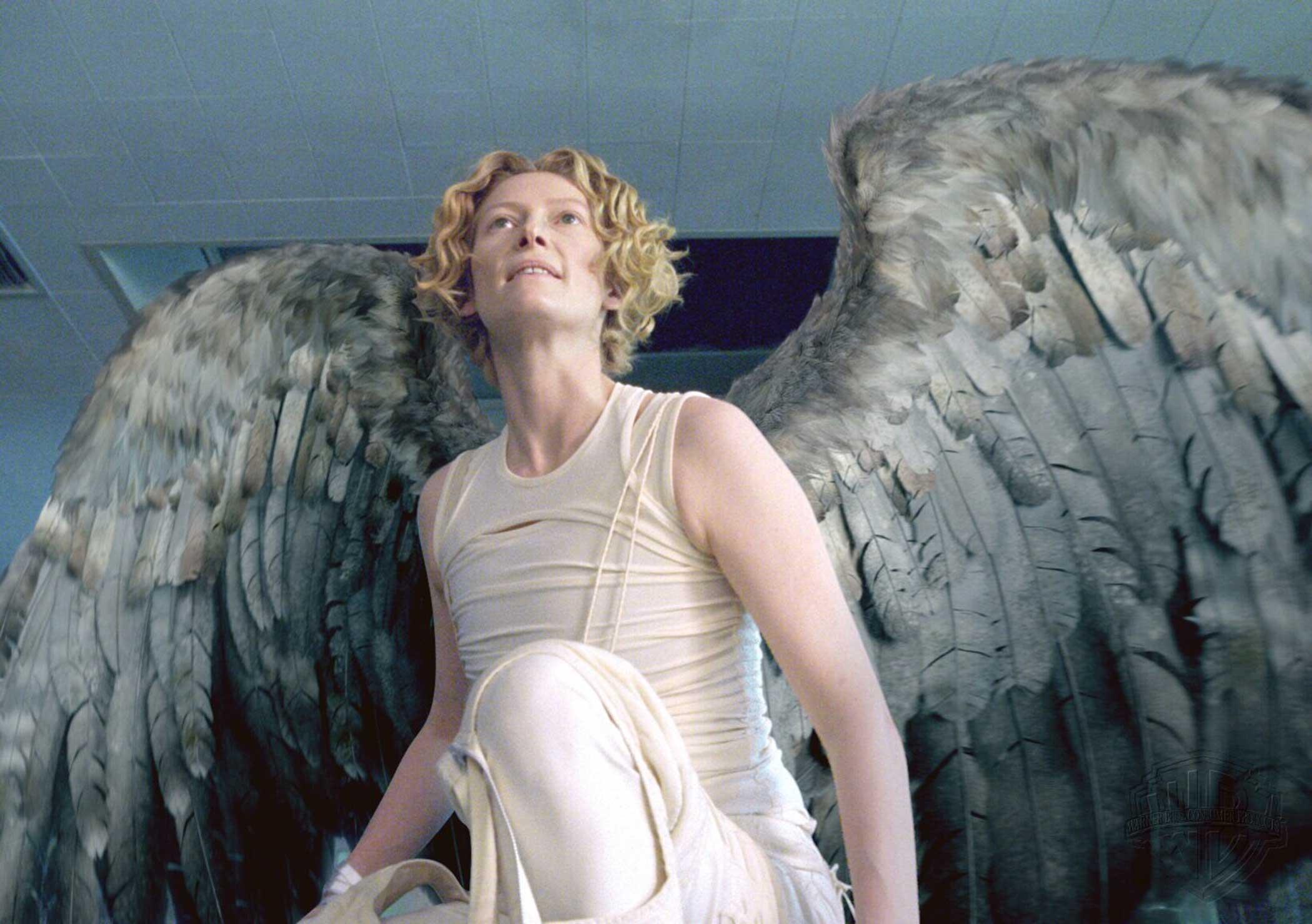 Tilda Swinton as Gabriel in Constantine in 2005.