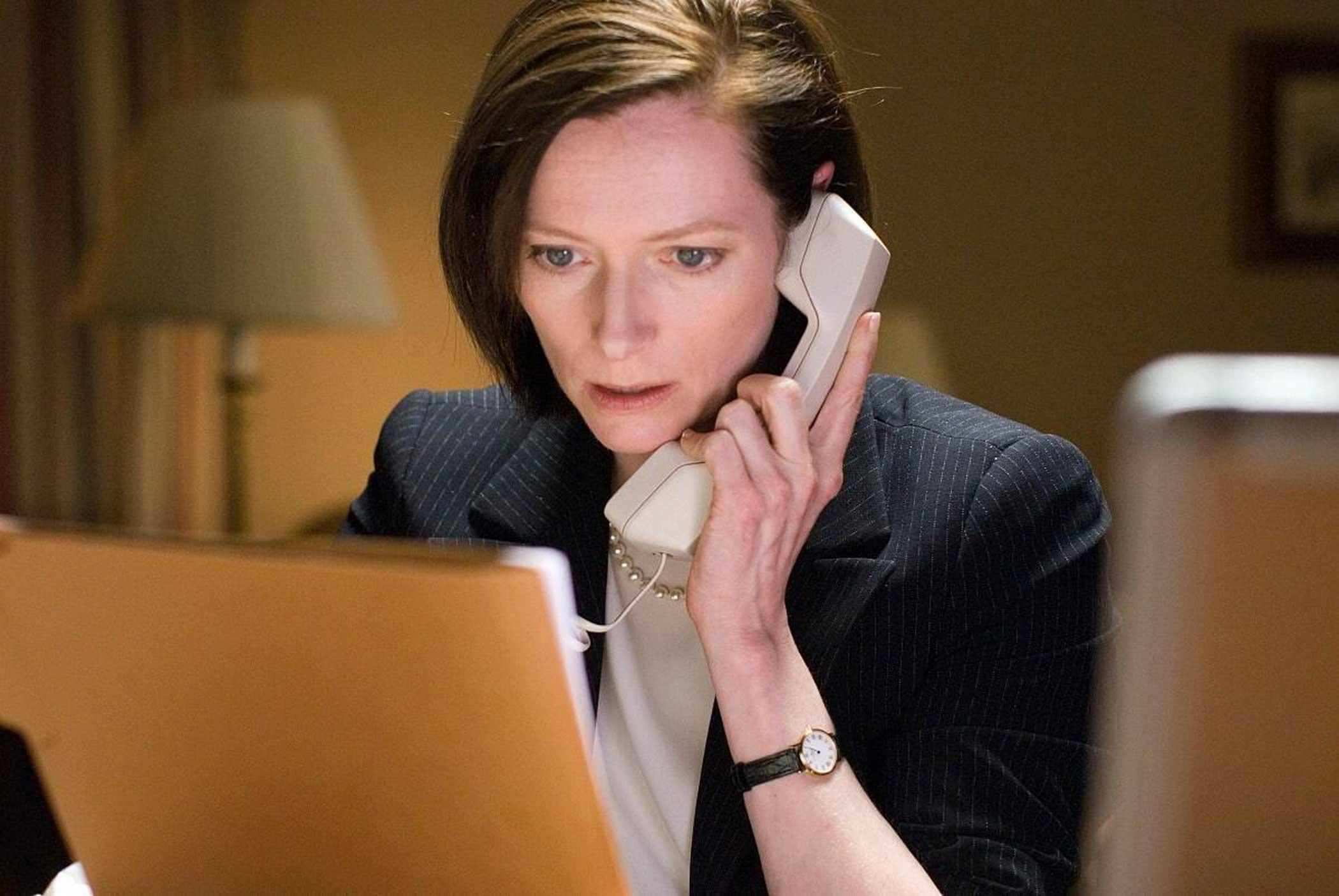 Tilda Swinton as Karen Crowder in Michael Clayton in 2007.
