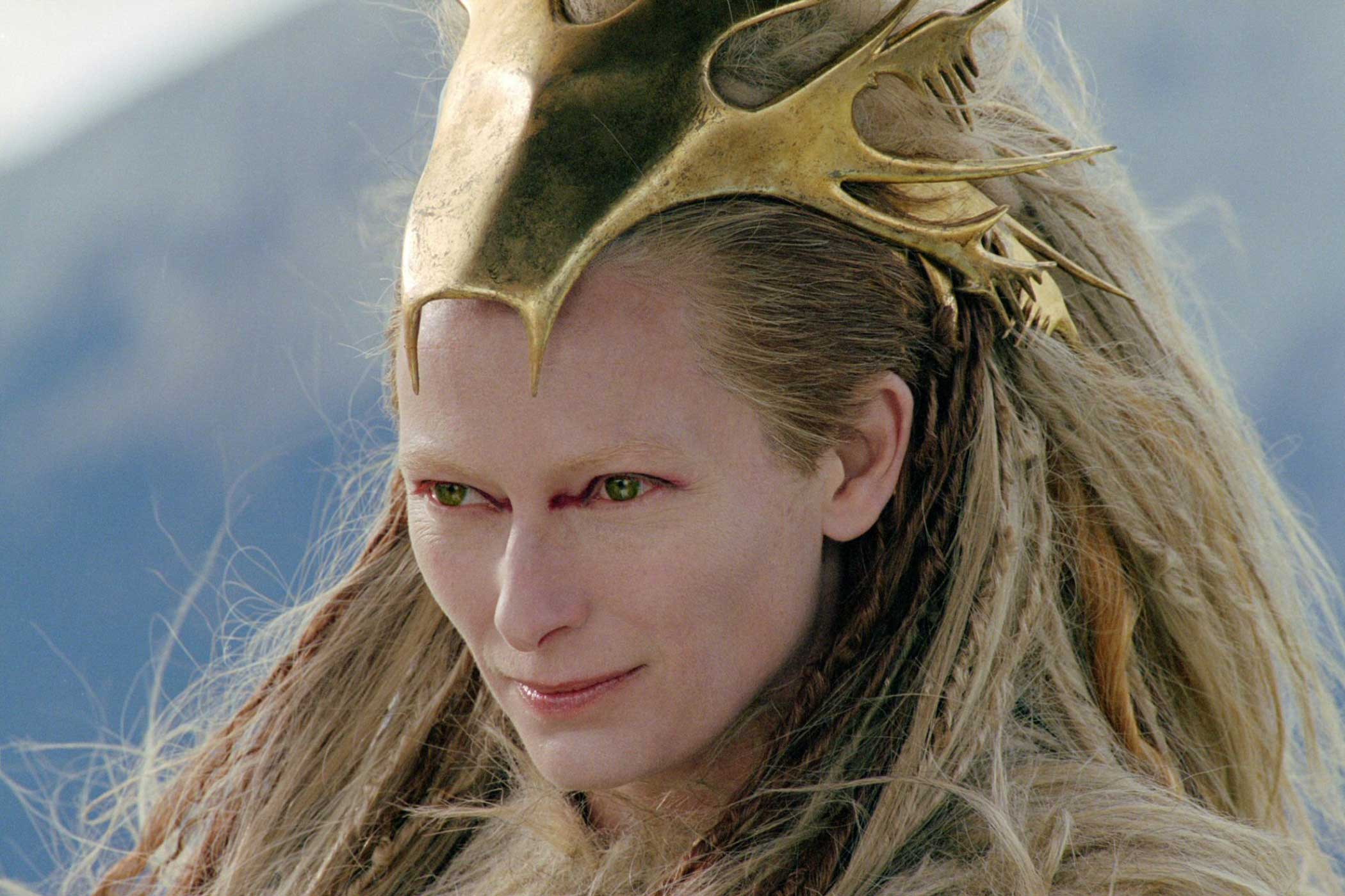 Tilda Swinton as Jadis, the White Witch, in The Chronicles of Narnia: The Lion, the Witch and the Wardrobe in 2005.