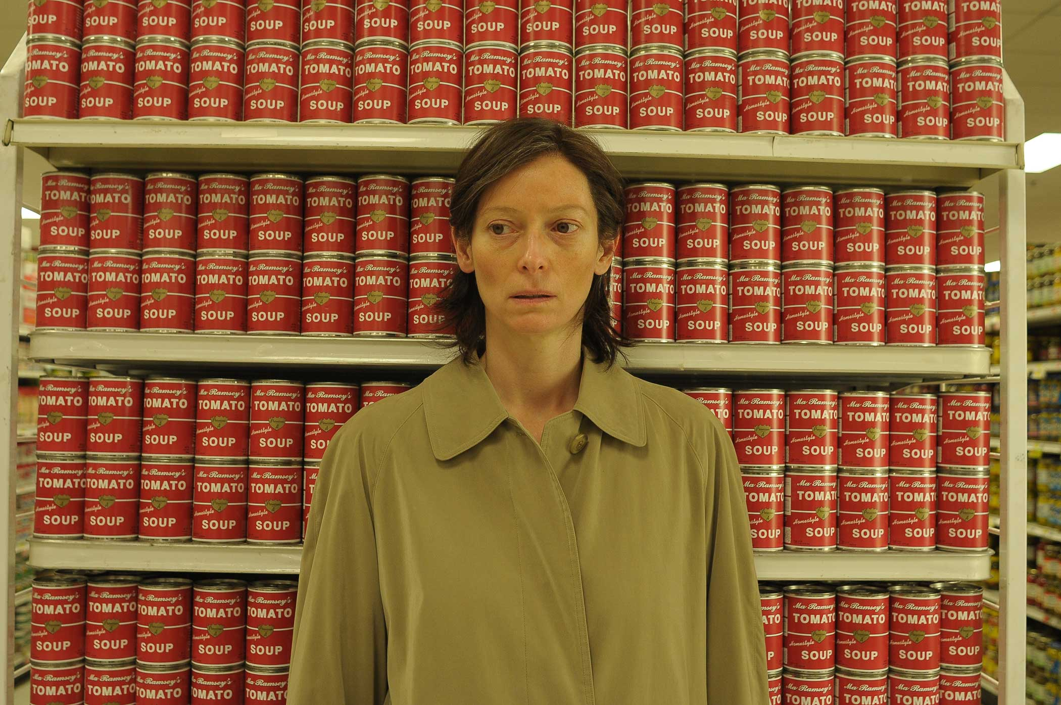 Tilda Swinton as Eva Khatchadourian in We Need to Talk About Kevin in 2011.