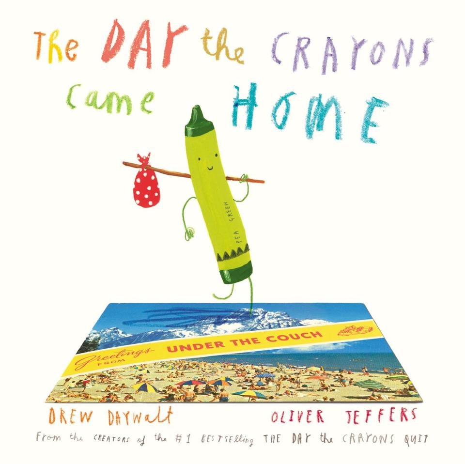 Top 10 Kids/YA The Day the Crayons Came Home by Drew Daywalt