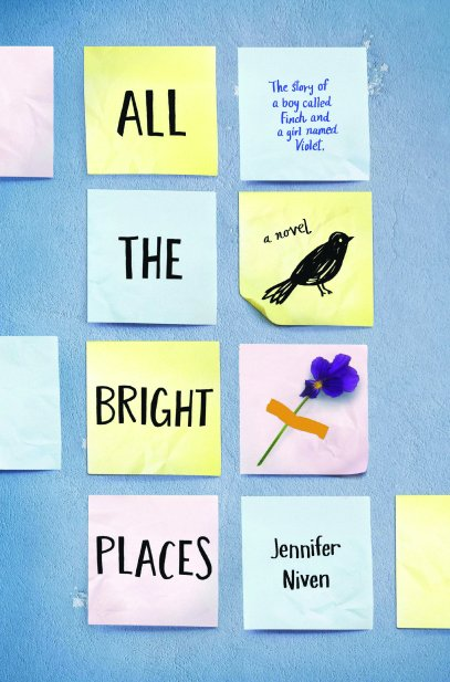 Top 10 Kids/YA All the Bright Places by Jennifer Niven