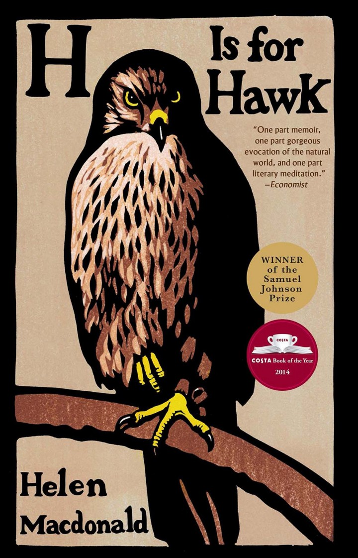 Top 10 Non Fiction H Is for Hawk by Helen Macdonald