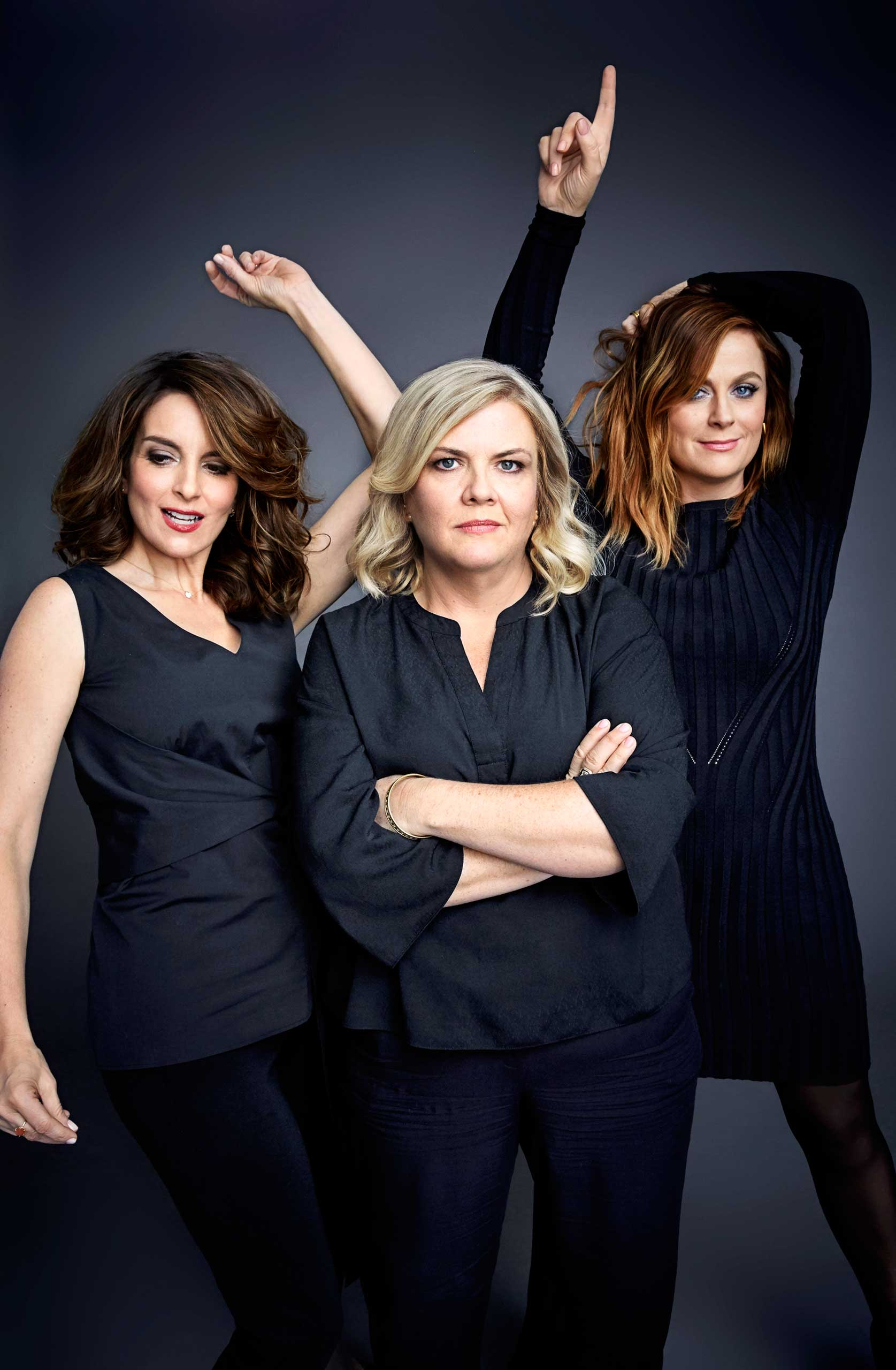 Fey, Pell and Poehler have known one another since their Saturday Night Live days