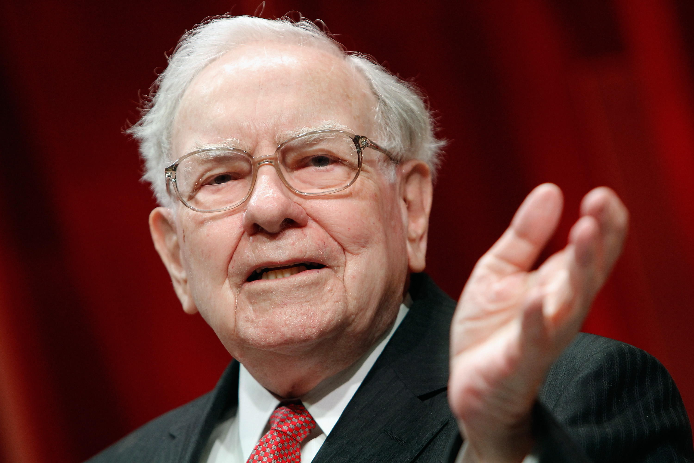 Warren Buffett speaks onstage during Fortune's Most Powerful Women Summit in Washington, D.C. on Oct. 13, 2015.