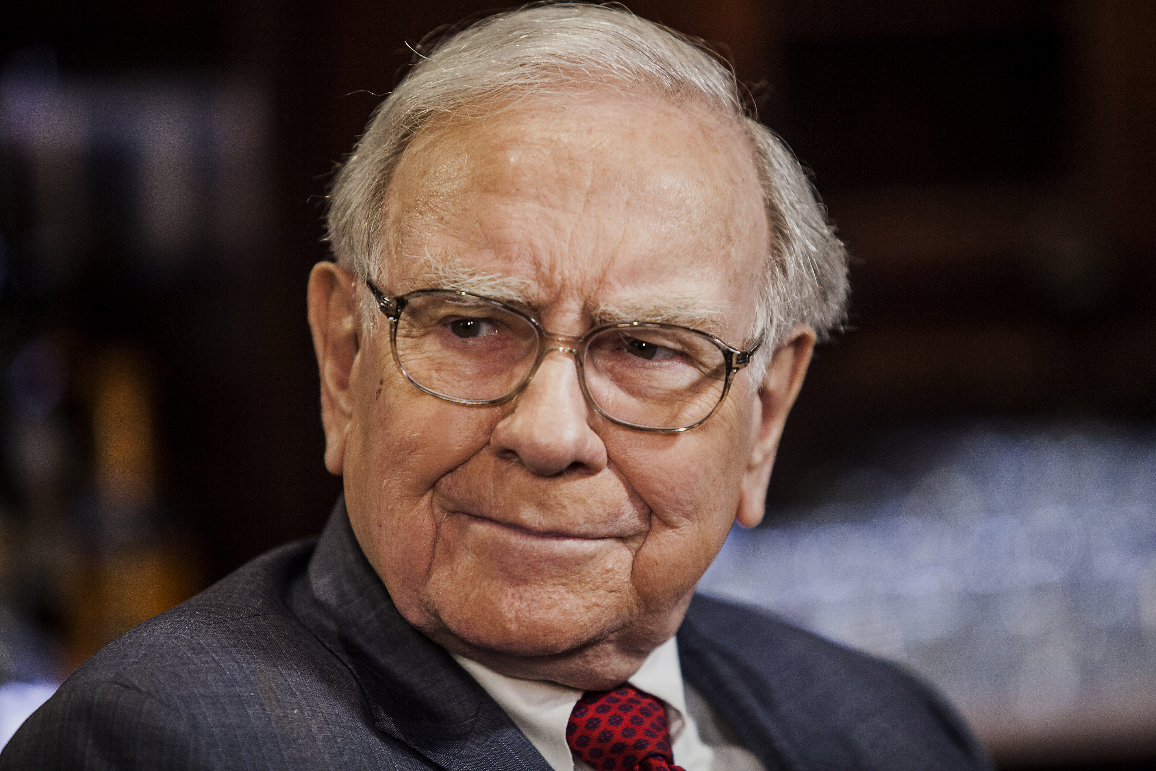 Warren Buffet during a Bloomberg Television Interview in New York City on April 23, 2014.