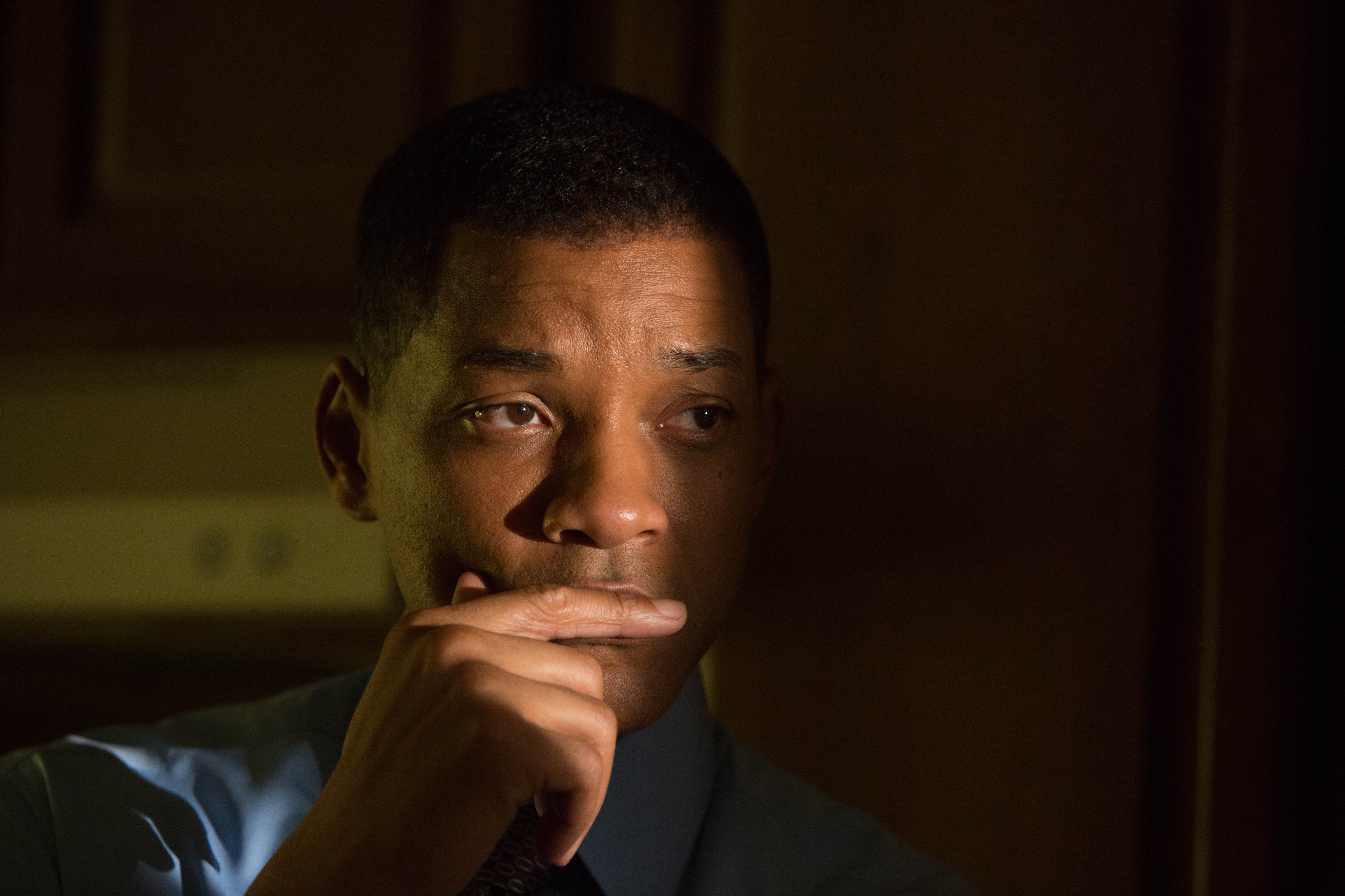 Will Smith in a scene from Concussion.