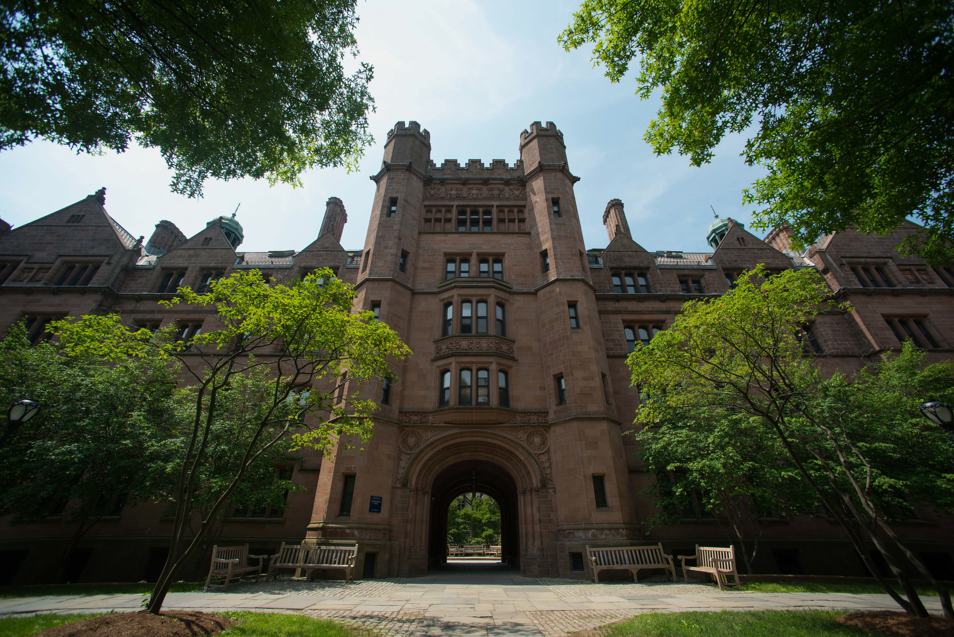 The campus of Yale University in New Haven, CT, U.S., on Friday, June 12, 2015.