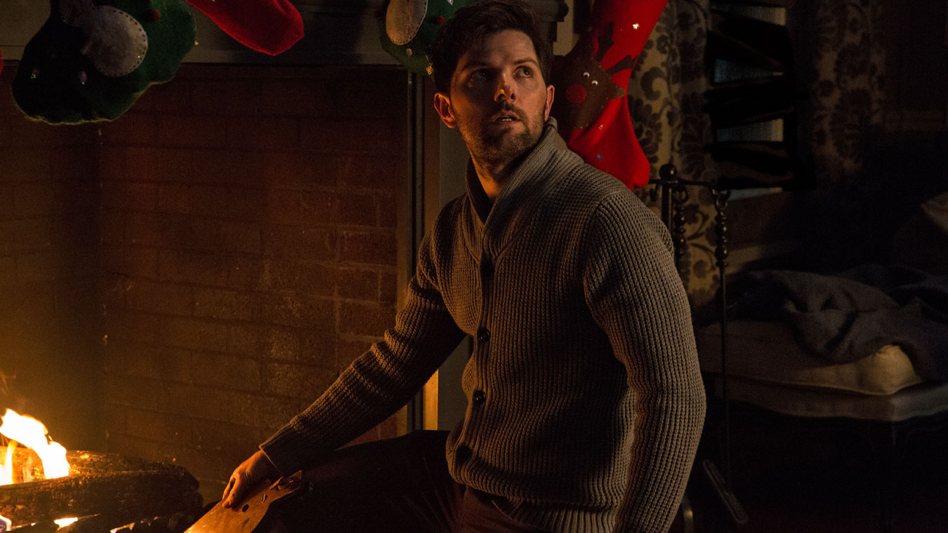 Adam Scott in the film Krampus.