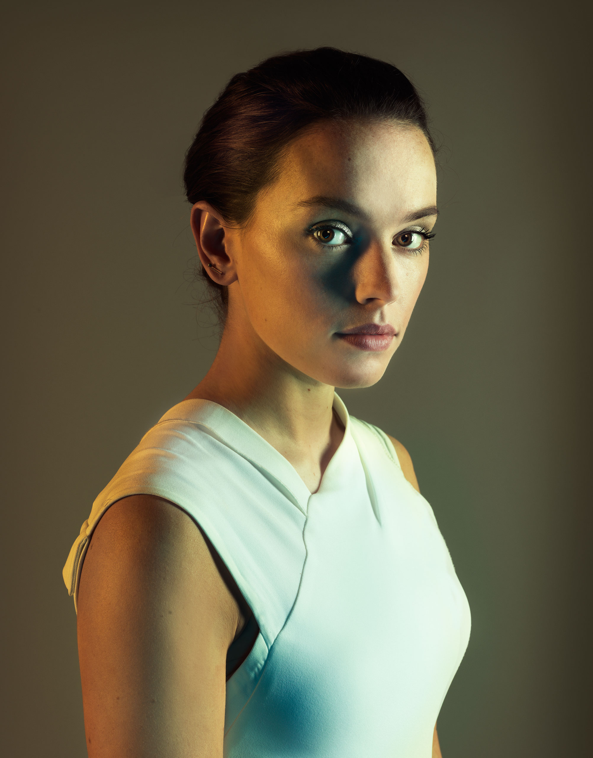 Daisy Ridley photographed for TIME in London, Oct. 29, 2015.
