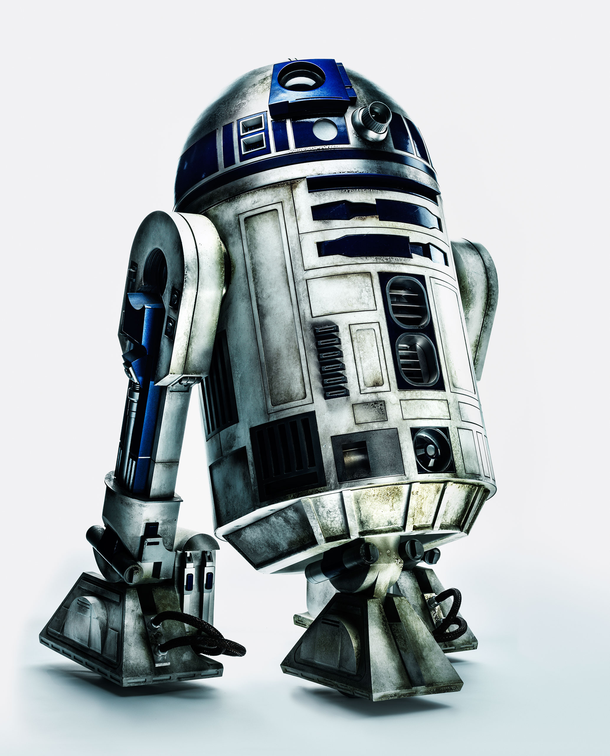 R2D2 photographed for TIME on October 29, 2015 in London.