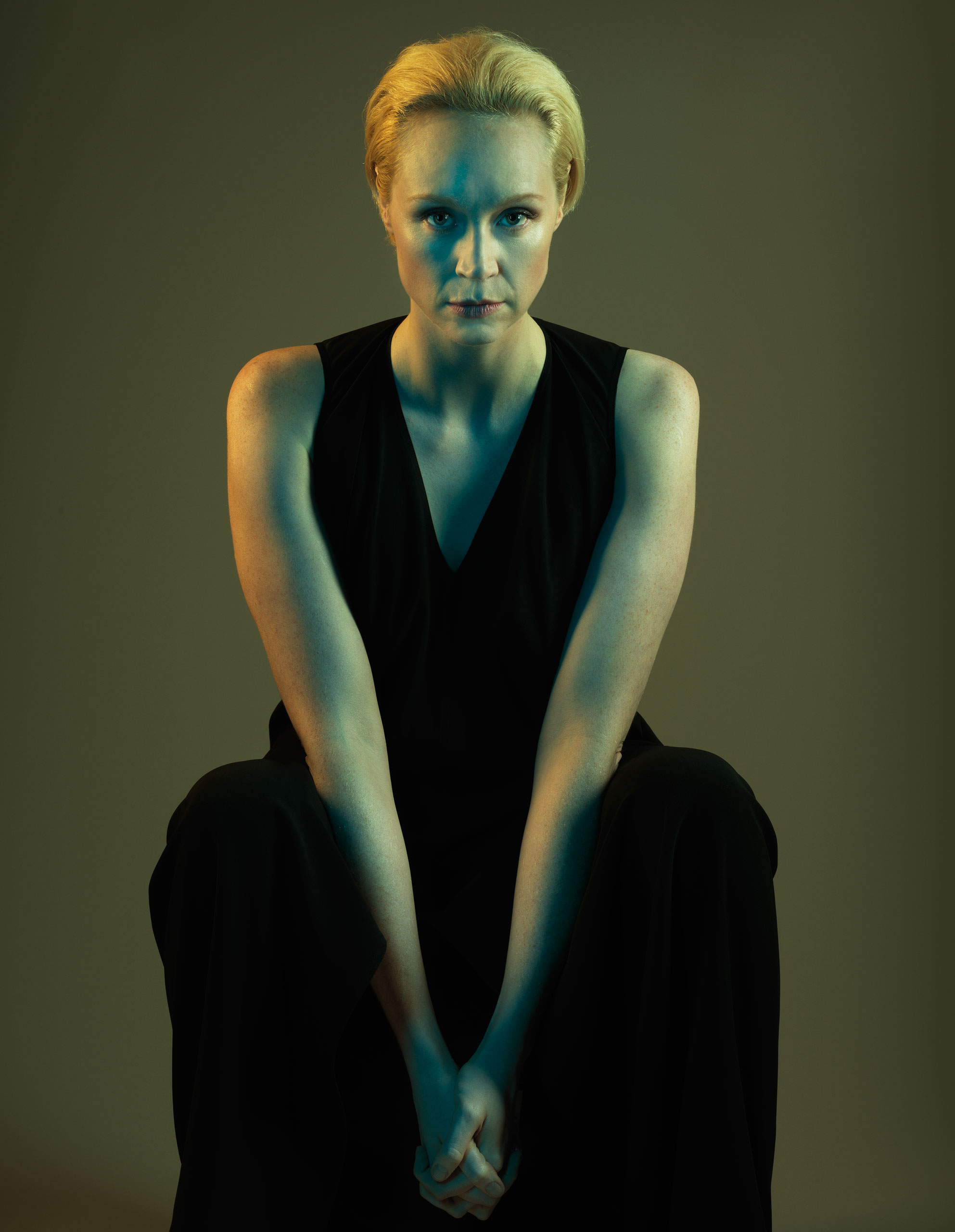 Gwendoline Christie photographed for TIME on October 29, 2015 in London.