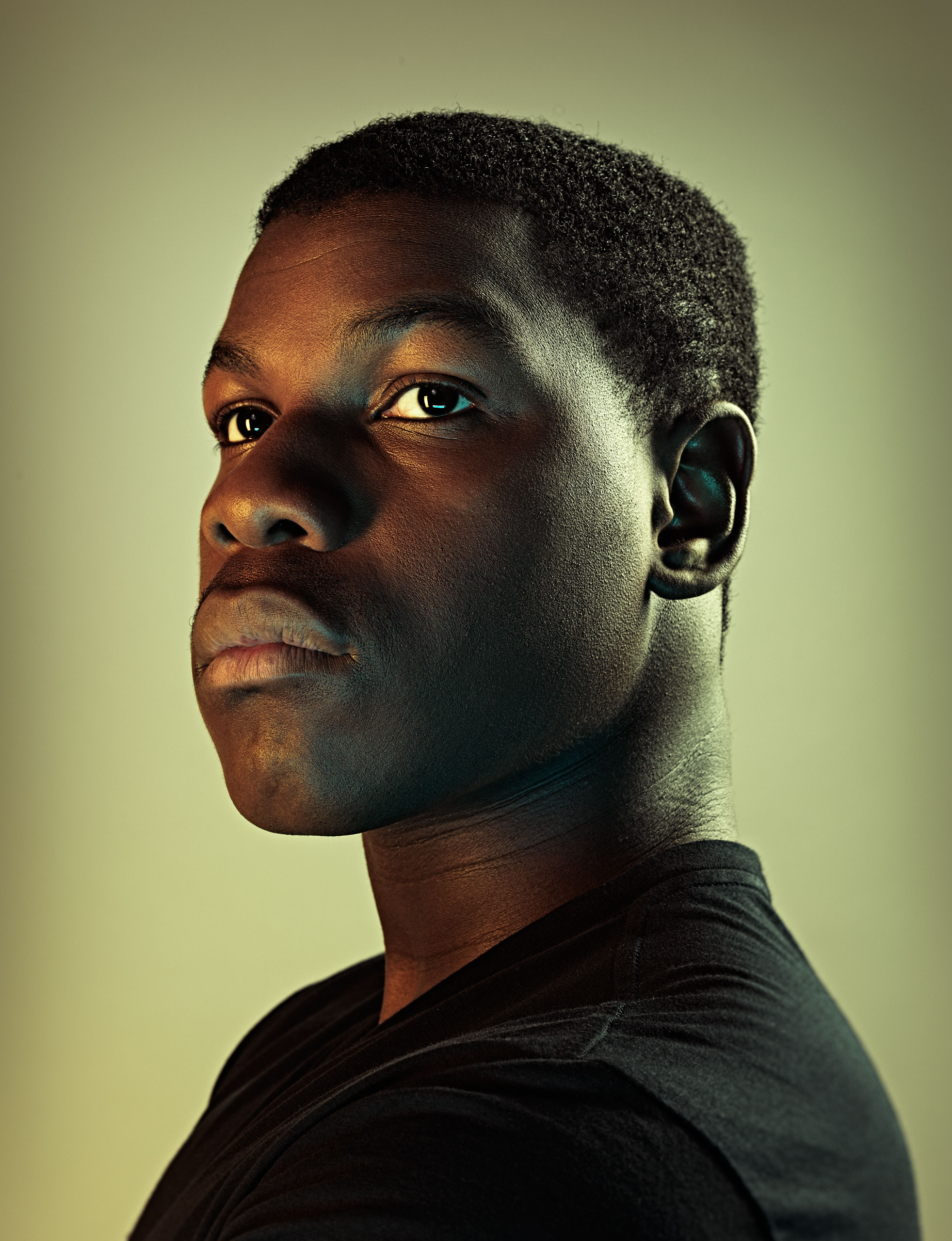 John Boyega photographed for TIME on October 26, 2015 in Los Angeles.