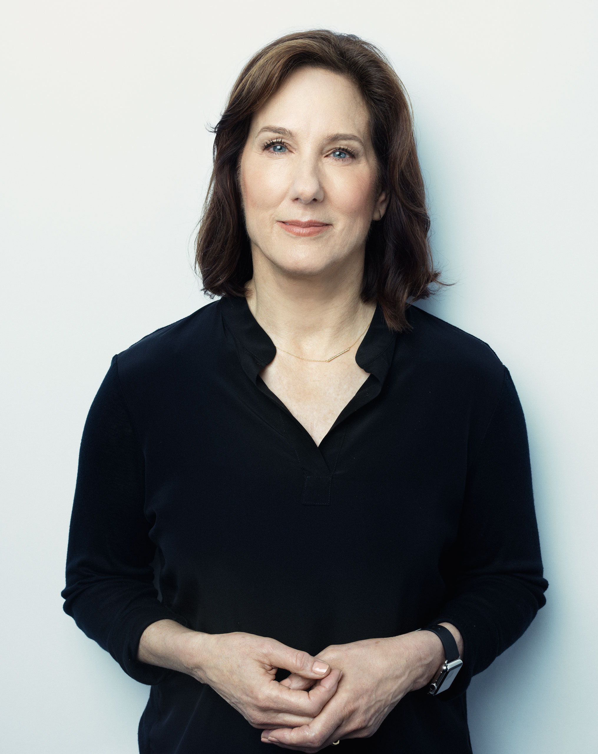 Kathleen Kennedy photographed for TIME on October 29, 2015 in London.
