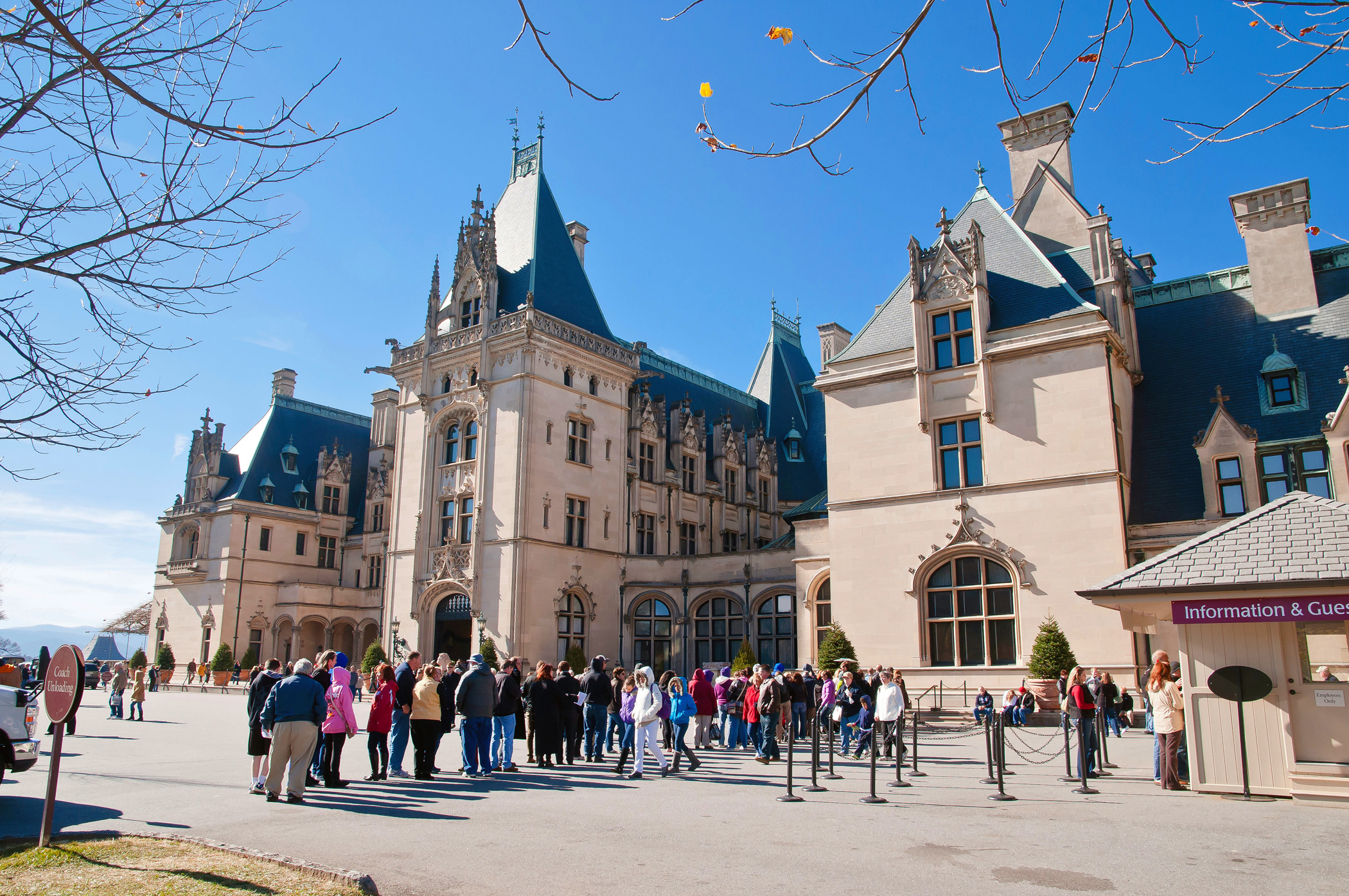 Biltmore House was once the largest private home in the U.S.