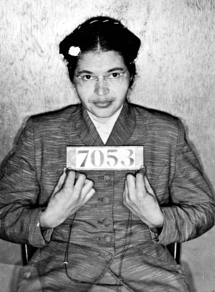 Rosa Parks Mug Shot 1955 Universal History Archive—UIG via Getty Images