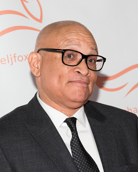Larry Wilmore attends the Michael J. Fox Foundation's  A Funny Thing Happened On The Way To Cure Parkinson's  Gala at The Waldorf=Astoria on November 14, 2015 in New York City. Noam Galai—WireImage