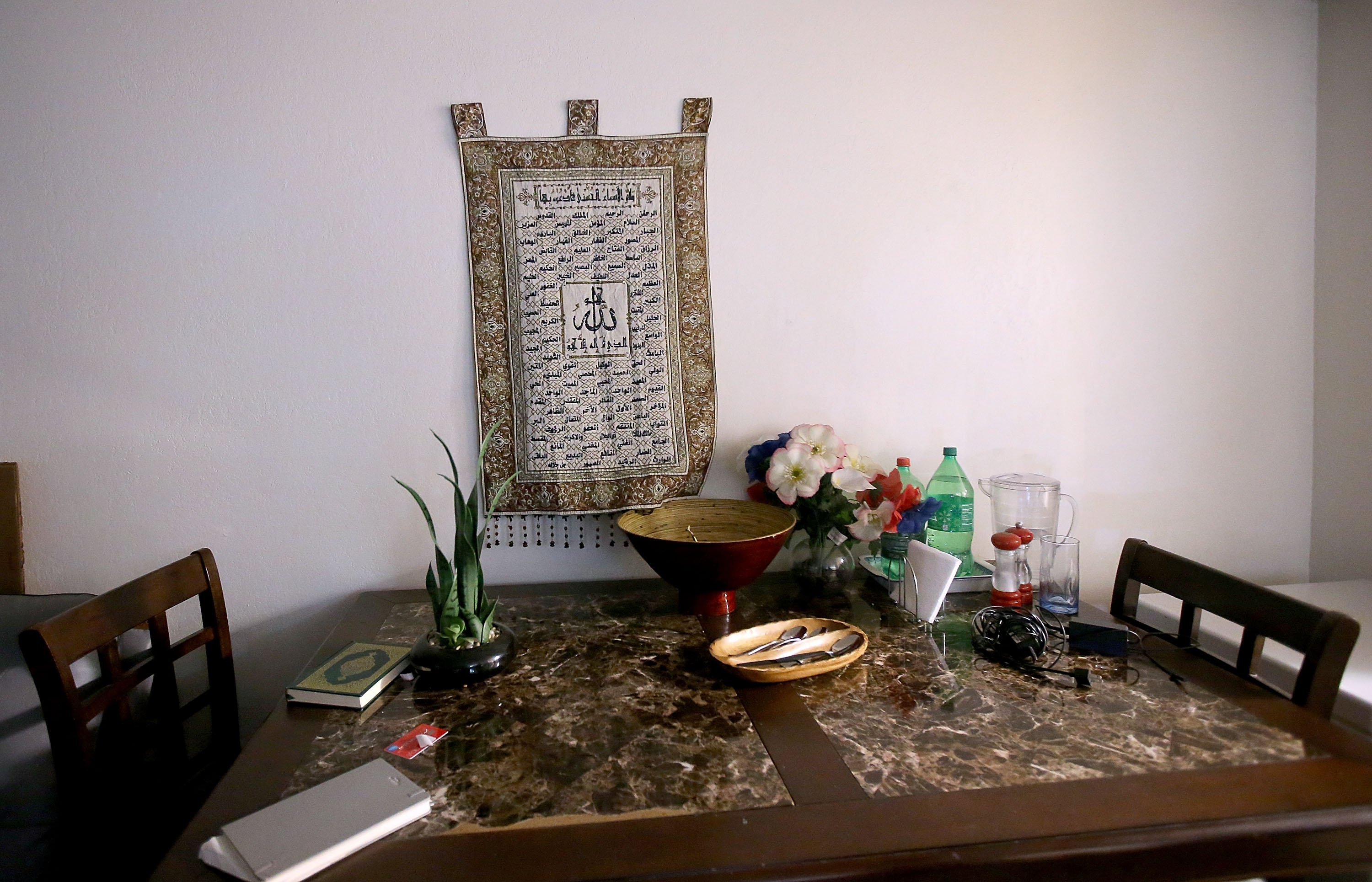 Interior of the home of shooting suspect Syed Farook in San Bernardino, CA on Dec. 4, 2015.