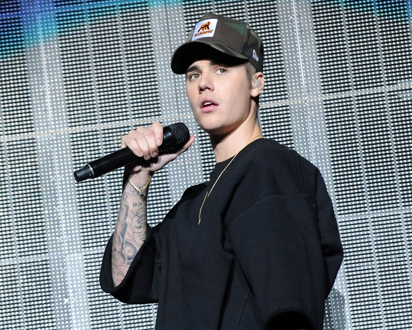 Justin Bieber performs during Power 96.1's Jingle Ball 2015 at Philips Arena on December 17, 2015 in Atlanta, Georgia