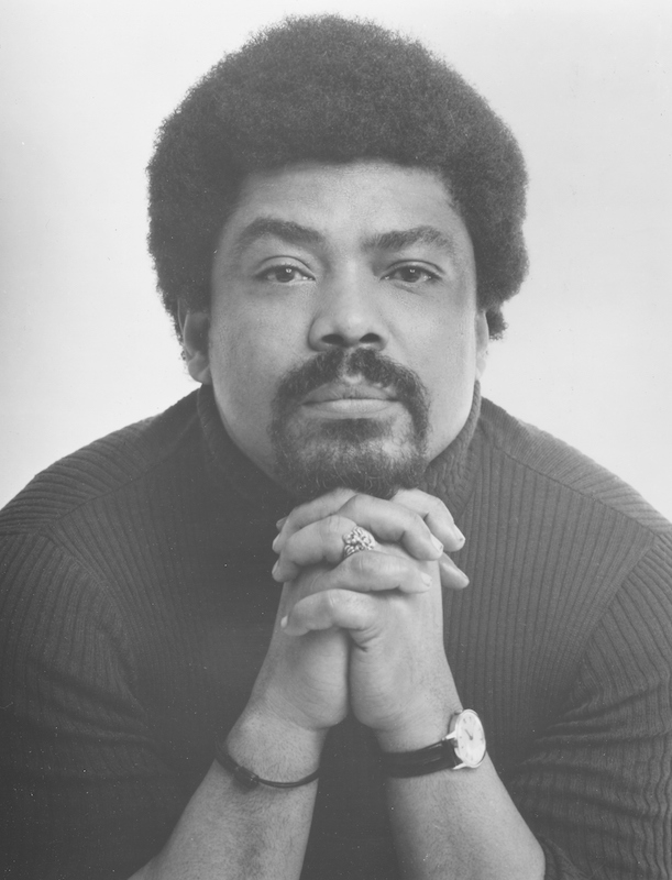 Portrait of African-American choreographer, dancer and activist, and founder of the American Dance Theater, Alvin Ailey, New York City, 1975.