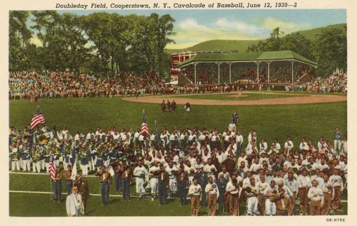 Baseball Game at Doubleday Field. 1939, Cooperstown, N.Y.