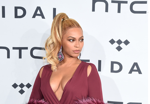Beyonce attends TIDAL X: 1020 at Barclays Center on October 20, 2015 in the Brooklyn borough of New York City.