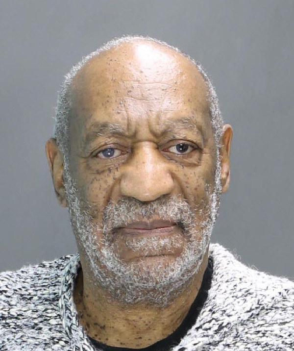 Bill Cosby, arrested and charged with aggravated indecent assault, in Elkins Park, Pa. on Dec. 30, 2015.