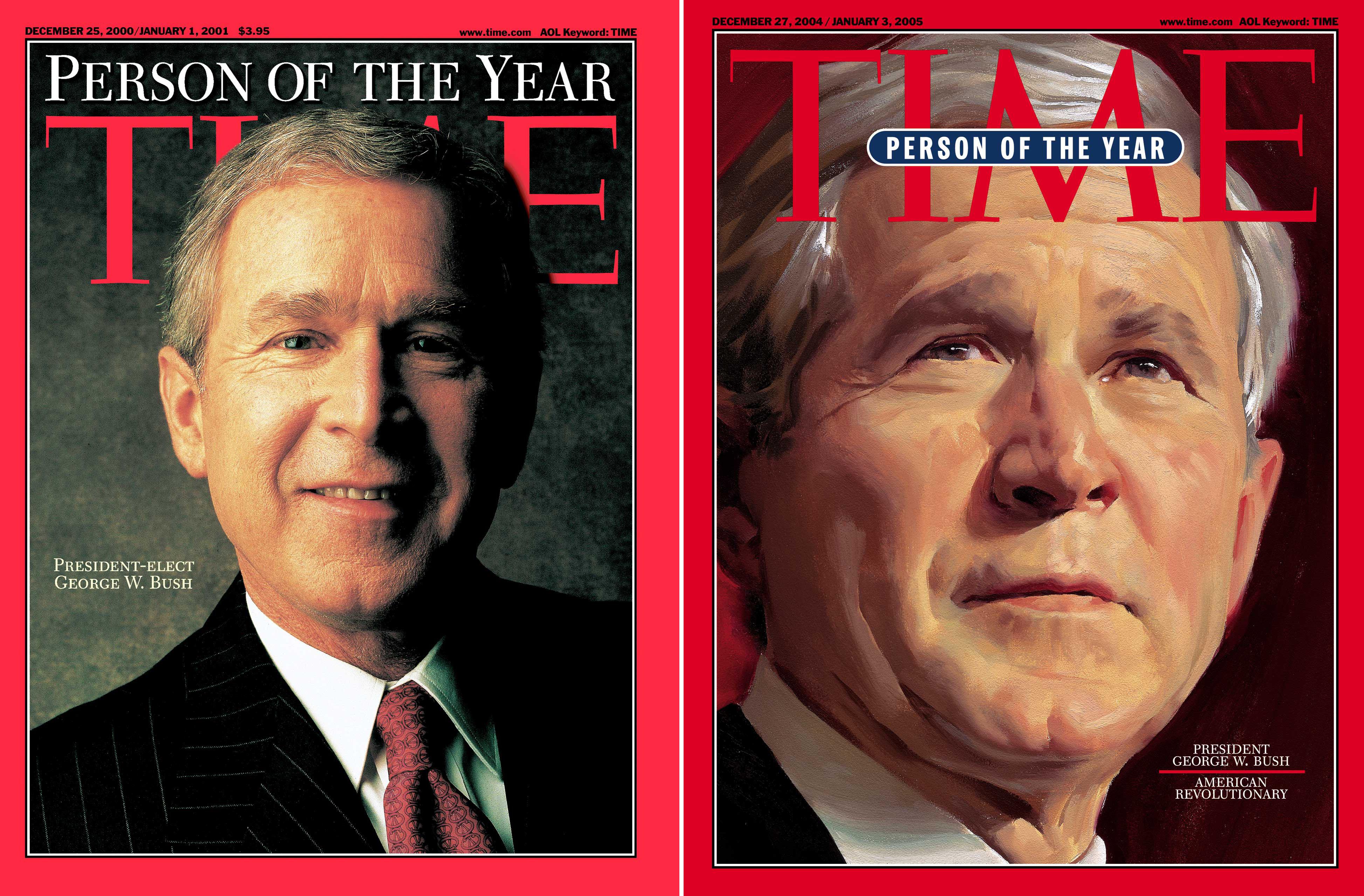 Bush POY Covers