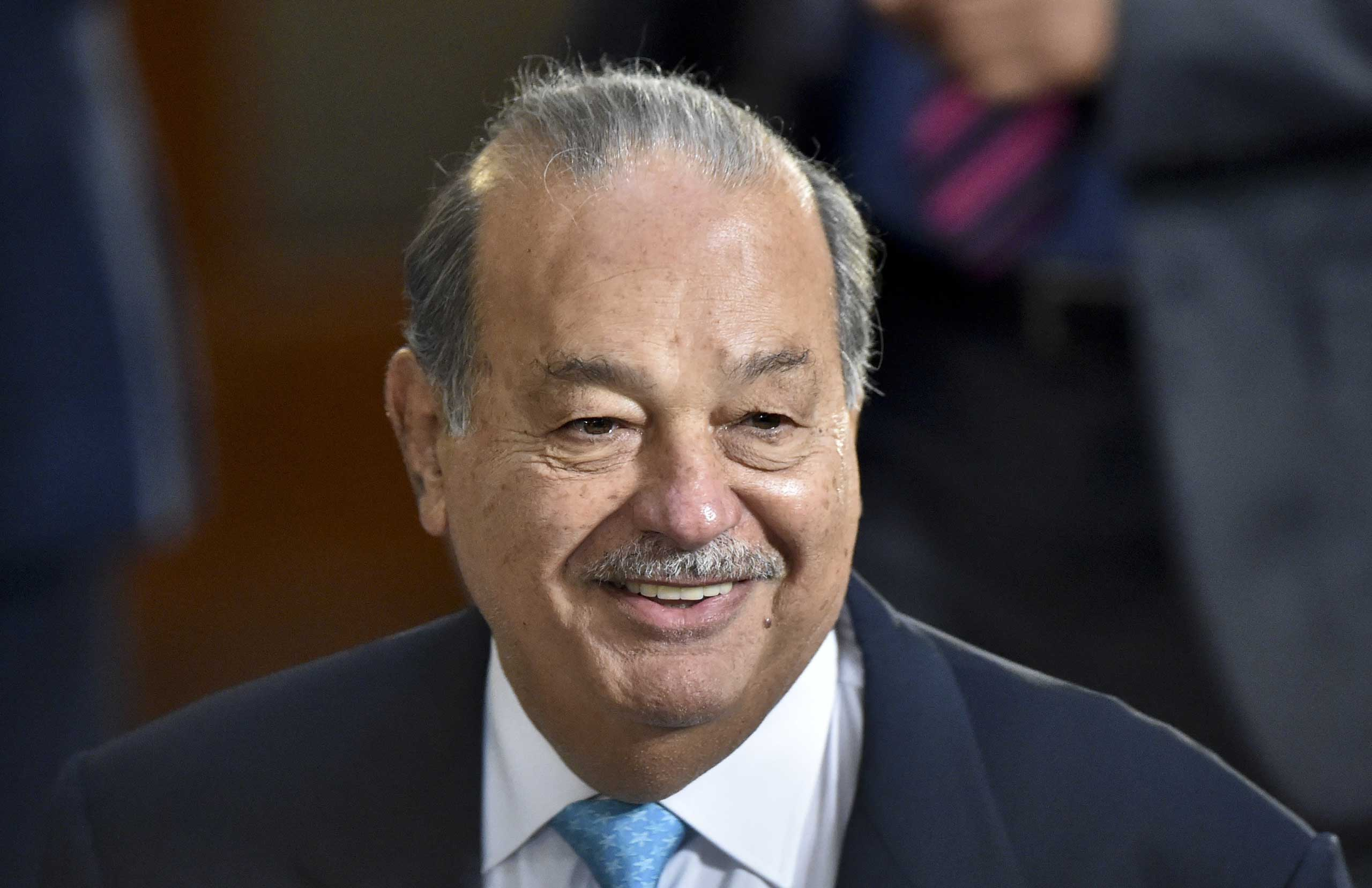 Carlos Slim in Feb. 2015.
