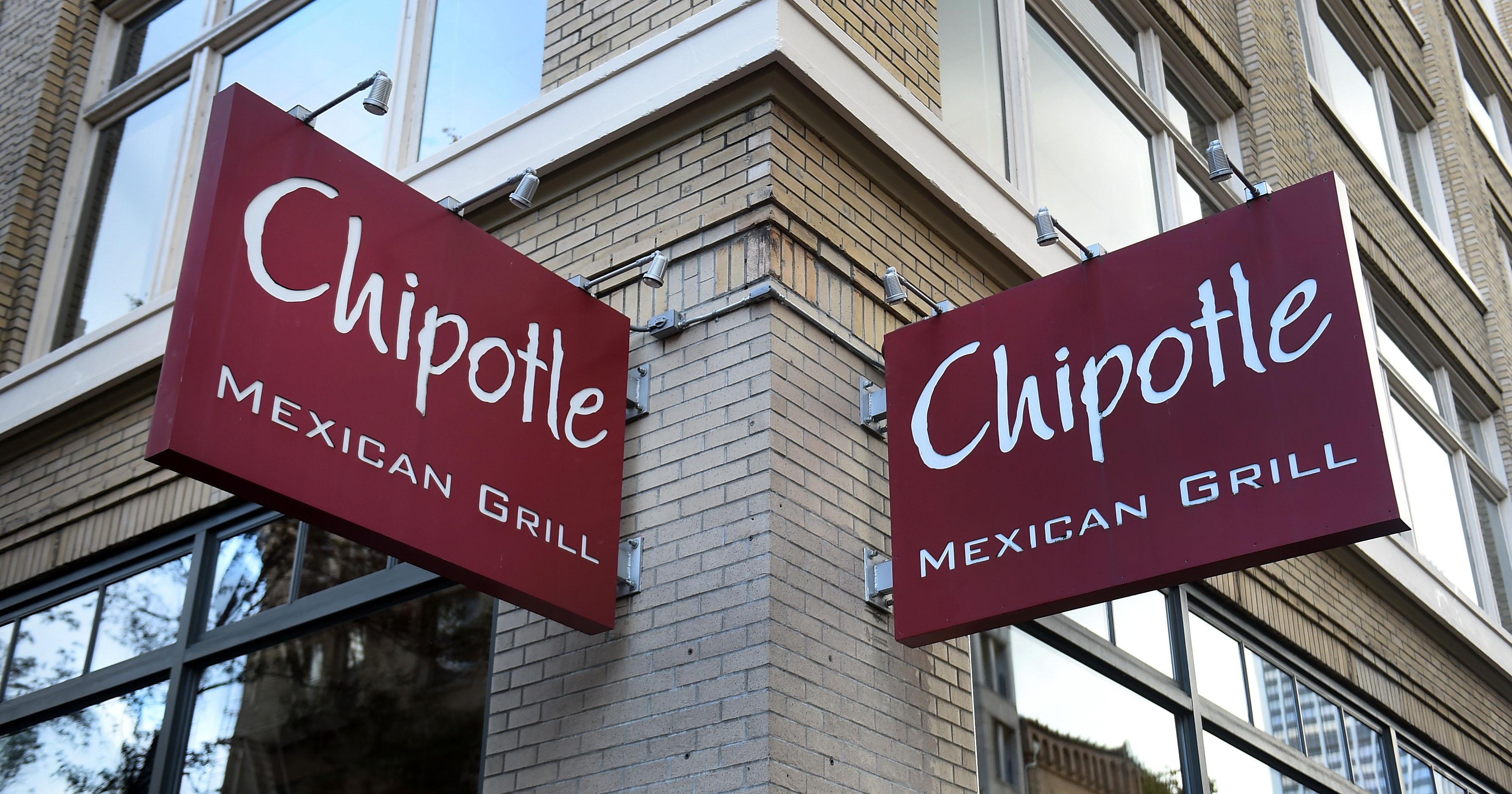A Chipotle Mexican Grill in Portland, Oregon.