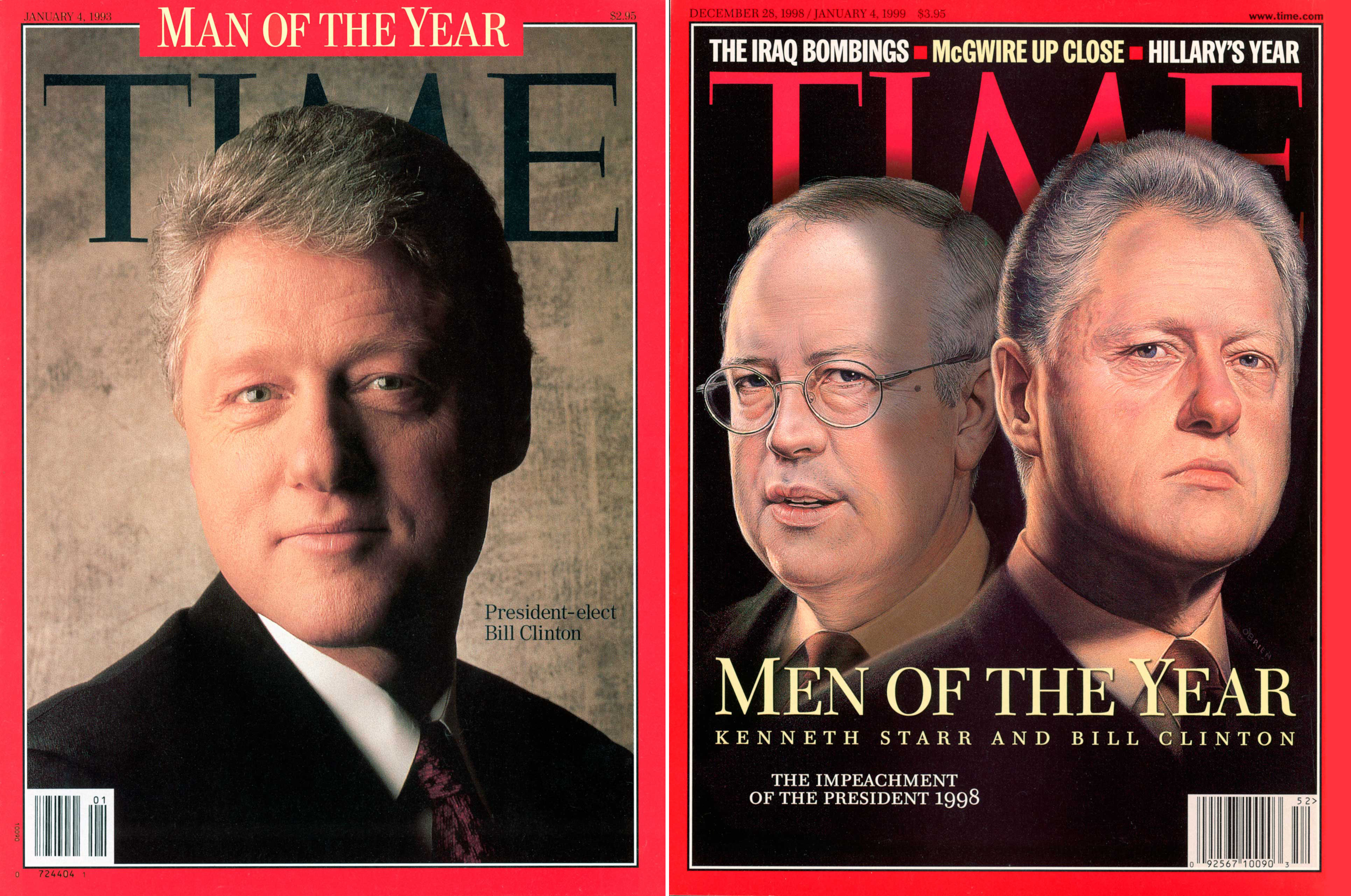 Clinton POY Covers
