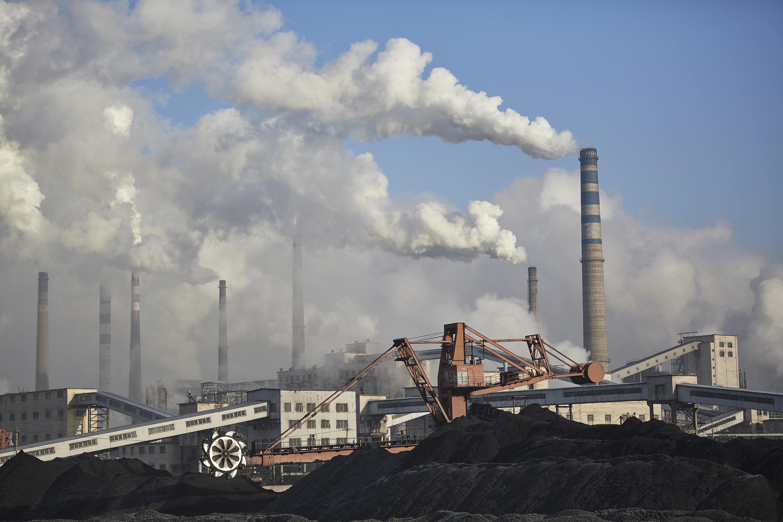 Coal burning powerplant in China