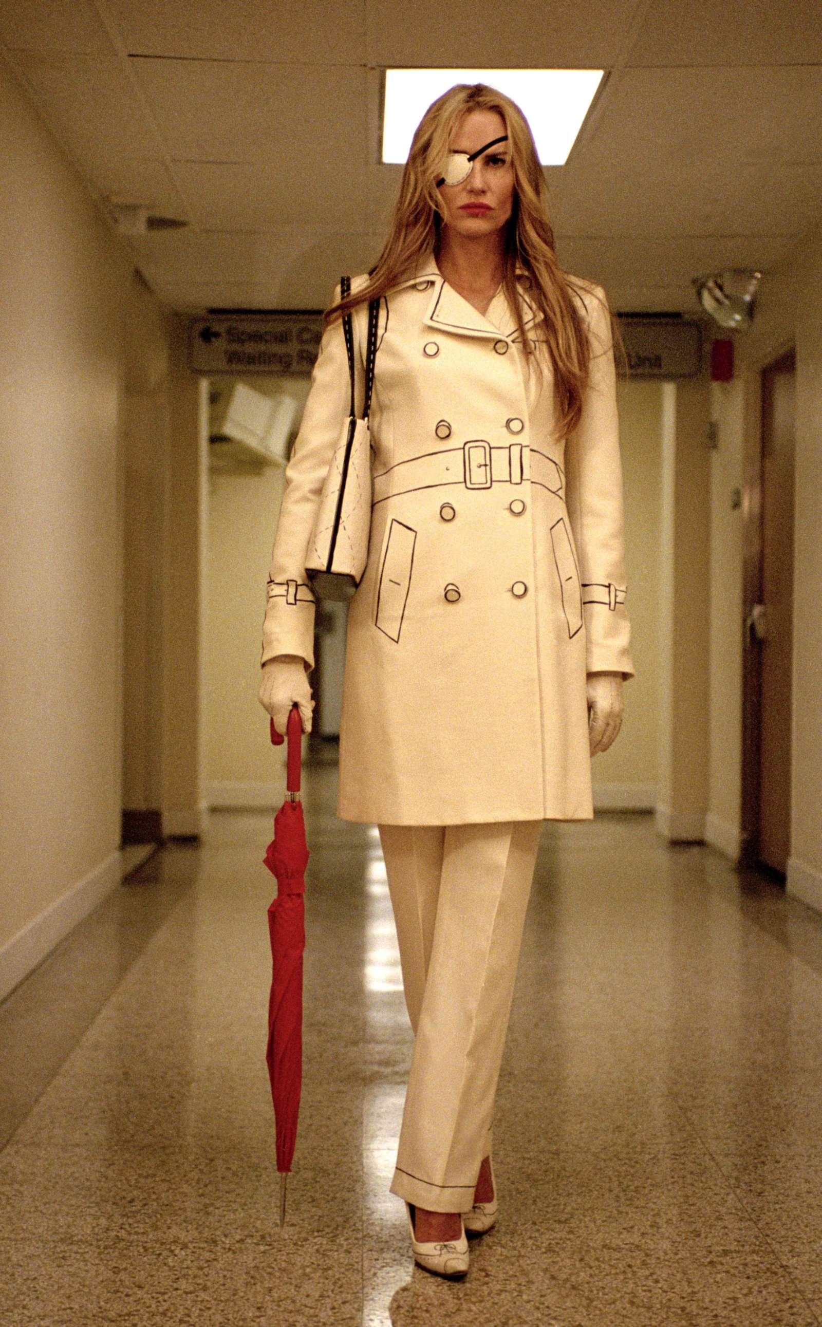 Daryl Hannah as Elle Driver in Kill Bill: Volume 1, 2003, and Kill Bill: Volume 2, 2004.