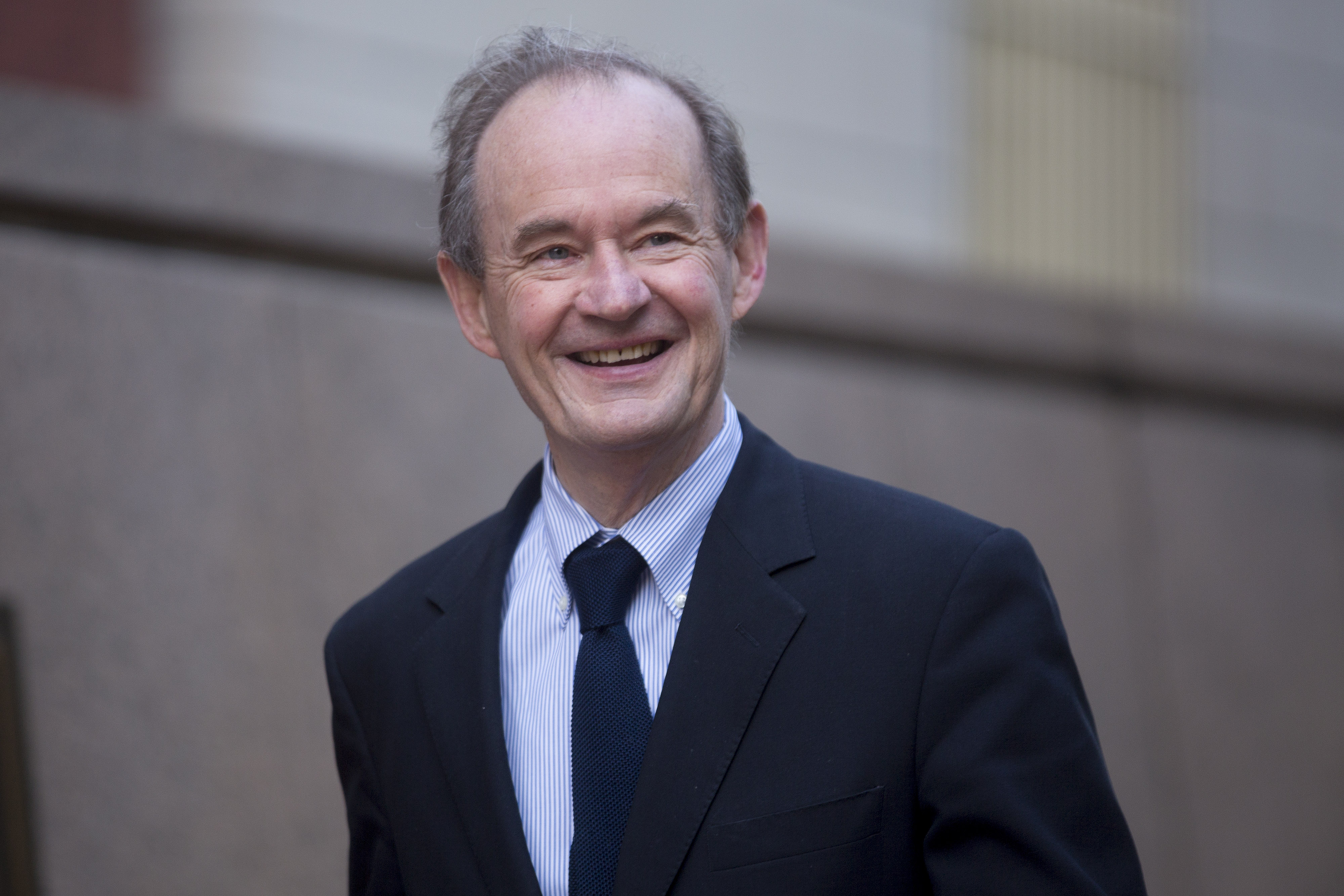 David Boies arrives to the U.S. Court of Federal Claims in Washington, DC on Oct. 7, 2014.