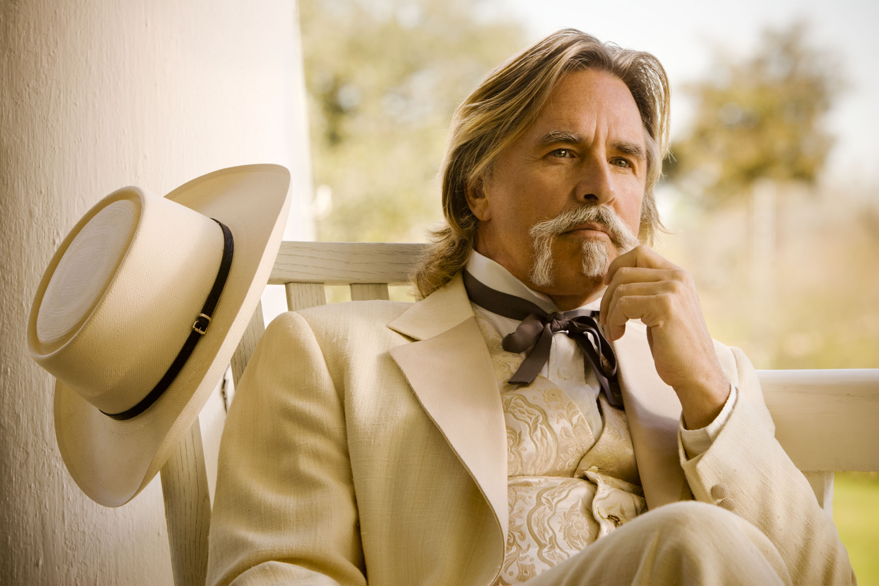 Don Johnson as Spencer  Big Daddy  Bennett in Django Unchained, 2012.