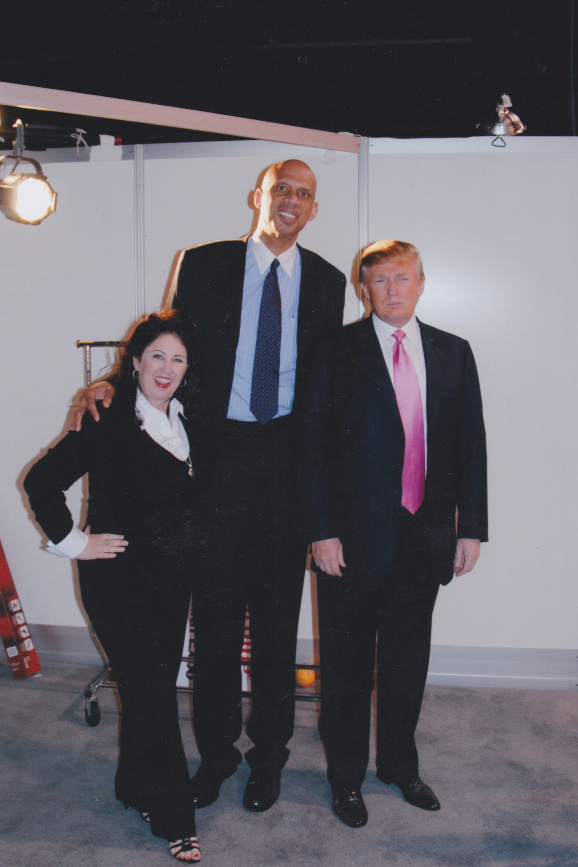 My manager Deborah Morales and I with Trump several years ago, before he forgot there are Muslim athletes