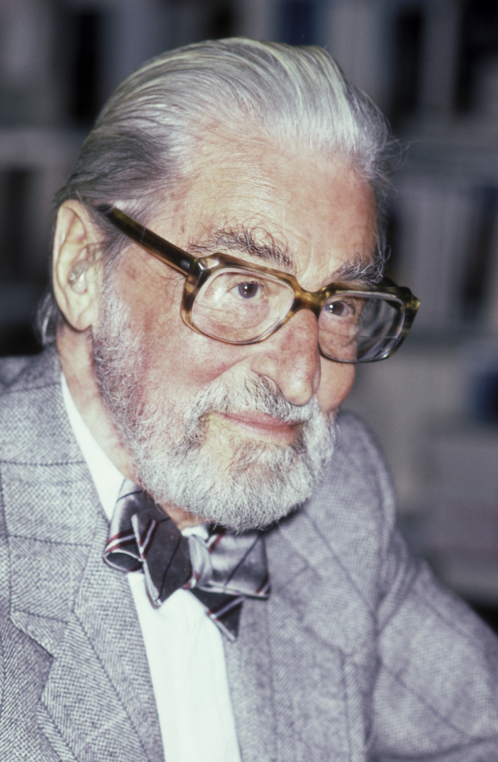 Theodor Geisel at Dr. Suess In-Store Appearance in Yonkers, N.Y. on March 1, 1986.