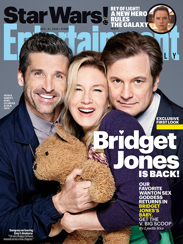 Entertainment Weekly Bridget Jones cover