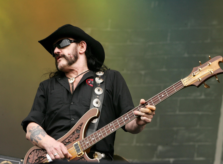 Lemmy (aka Ian Fraiser Kilmister) of Motorhead during Fields of Rock Festival 2007 in the Netherlands.