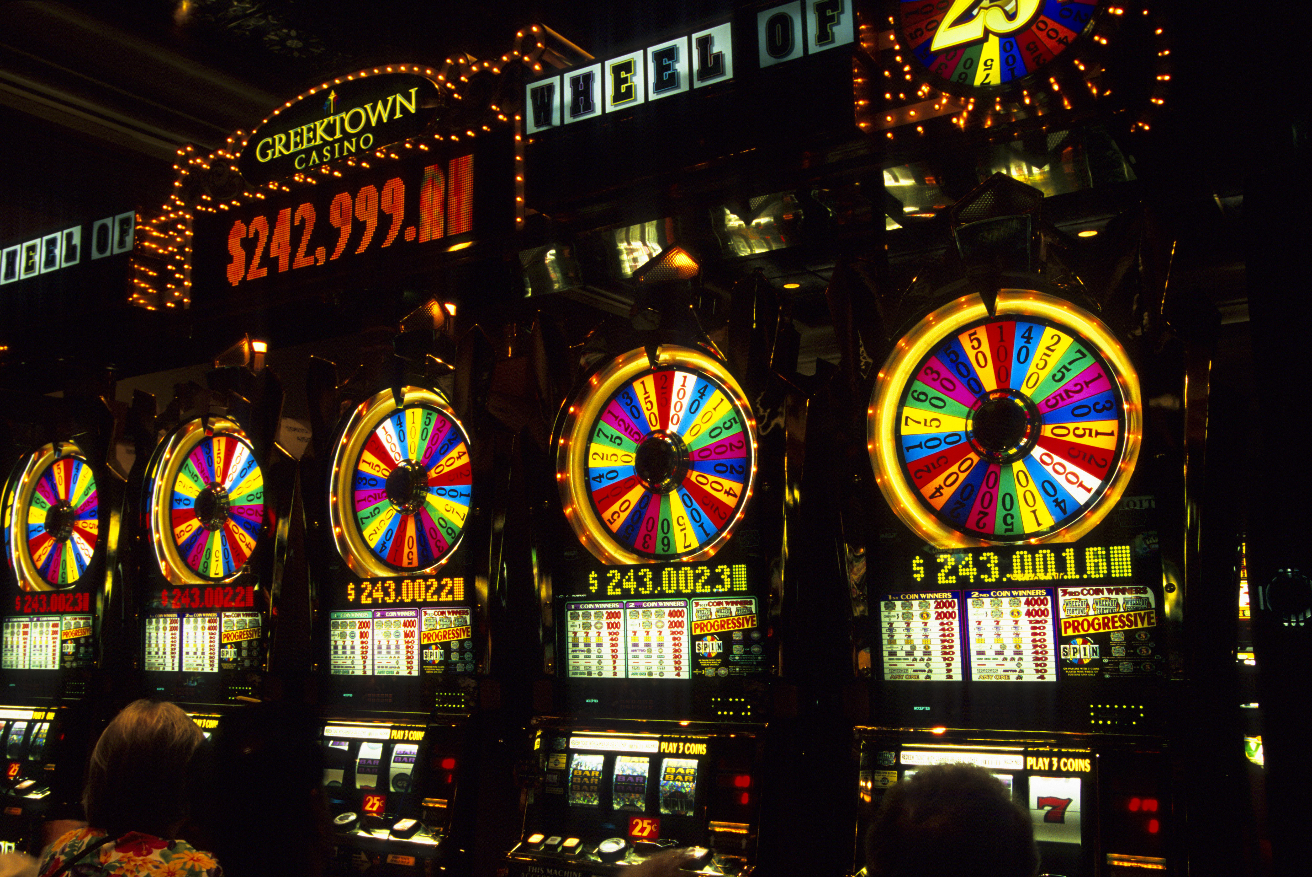 A Michigan woman won over $2 million while playing the Wheel of Fortune slots at Greektown Casino-Hotel.