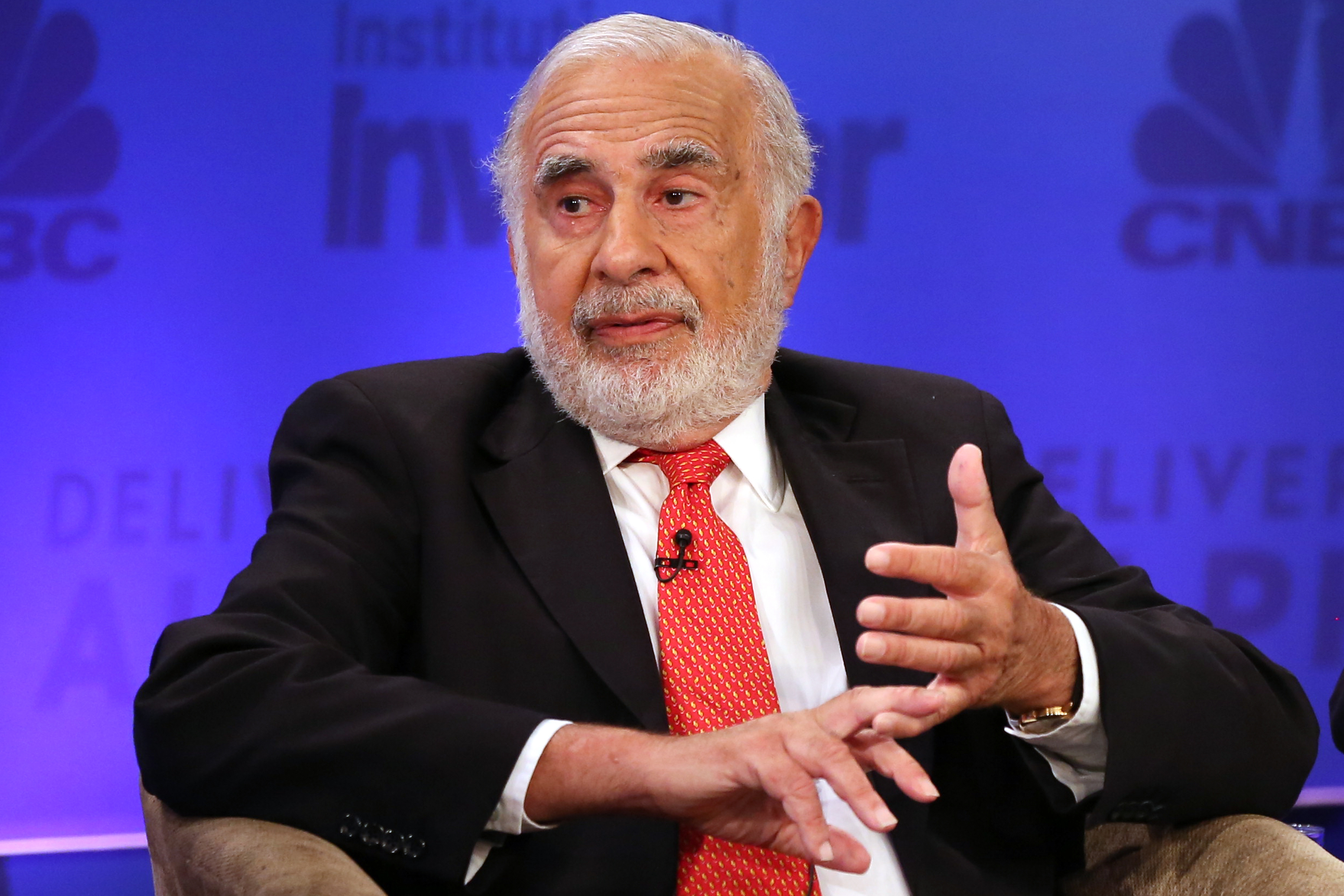 Carl Icahn, Chairman, Icahn Enterprises, at the 2015 Delivering Alpha Conference on July 15, 2015.