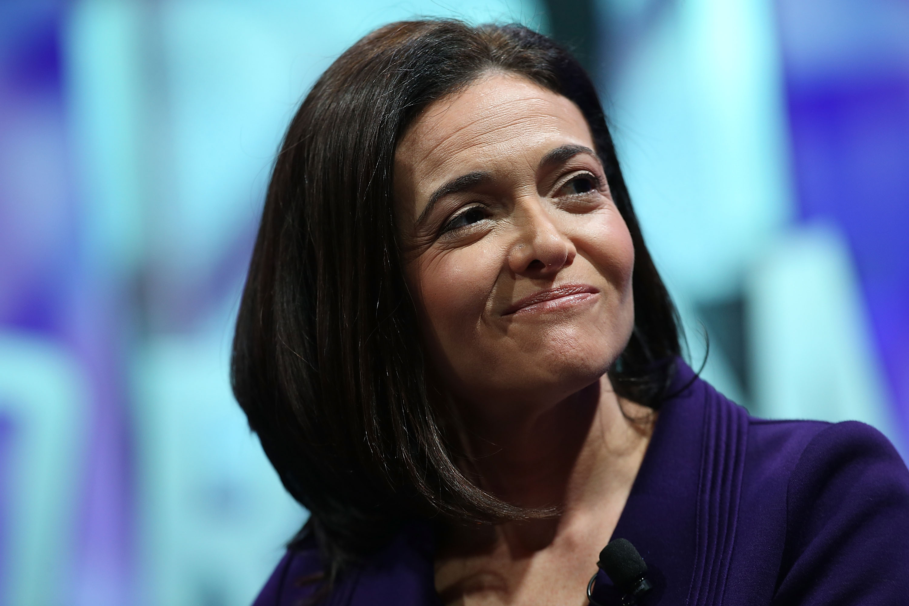 Facebook COO Sheryl Sandberg speaks during the Fortune Global Forum on November 3, 2015 in San Francisco, California. (Justin Sullivan--Getty Images)